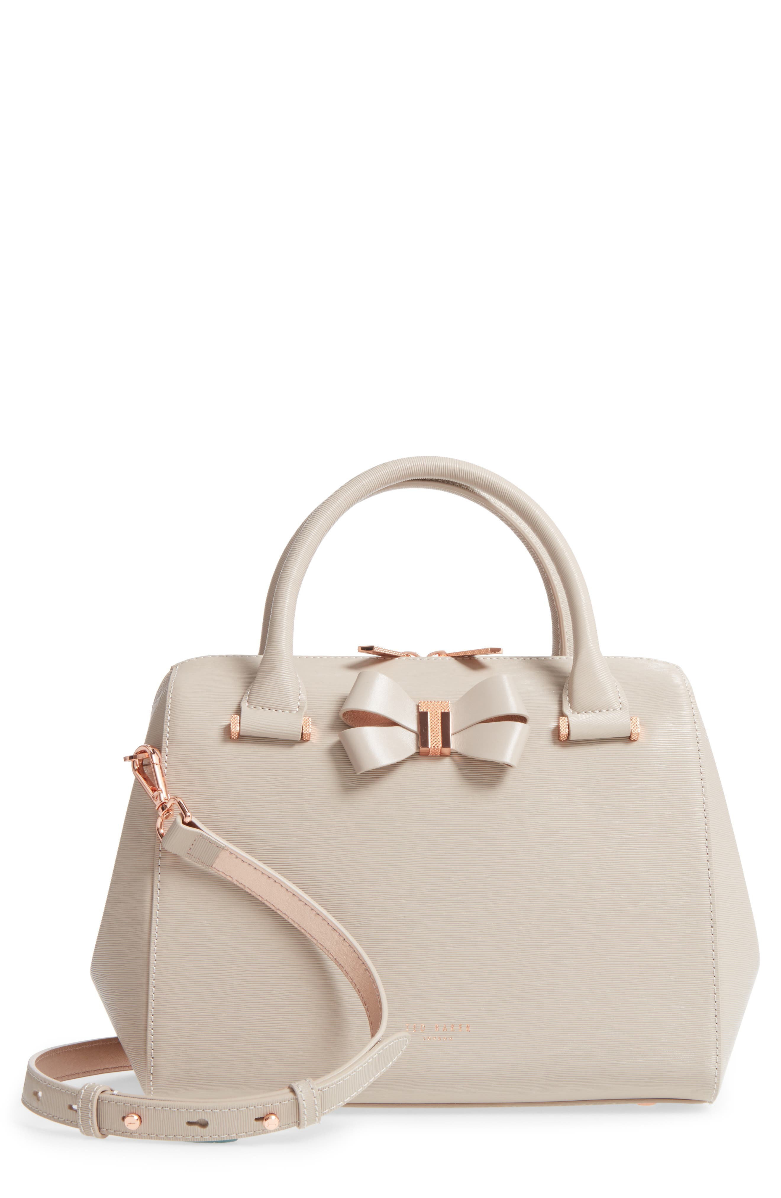 Ted Baker London Small Bowsiia Leather Bowler Bag