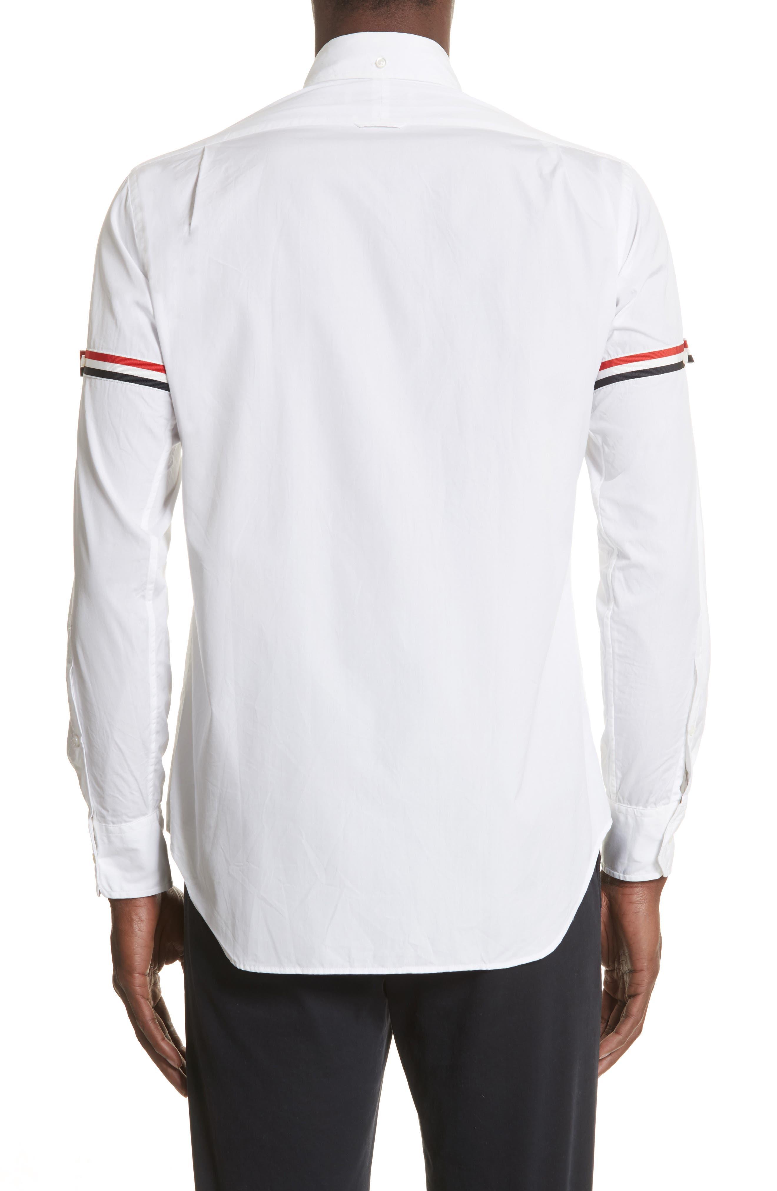 Woven Shirt,                             Alternate thumbnail 3, color,                             Off White