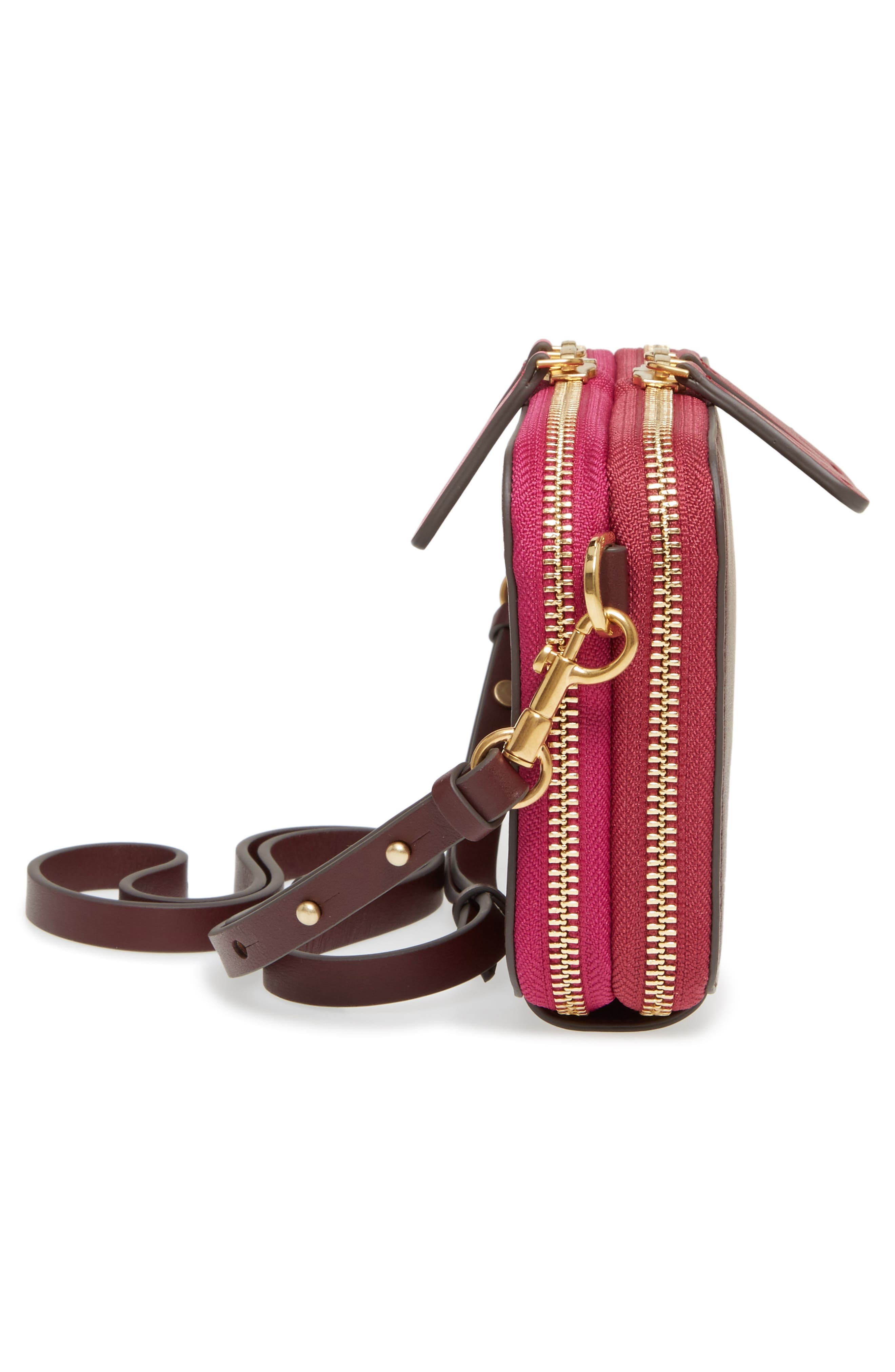 Alternate Image 5  - Anya Hindmarch Stack Leather Crossbody Wallet