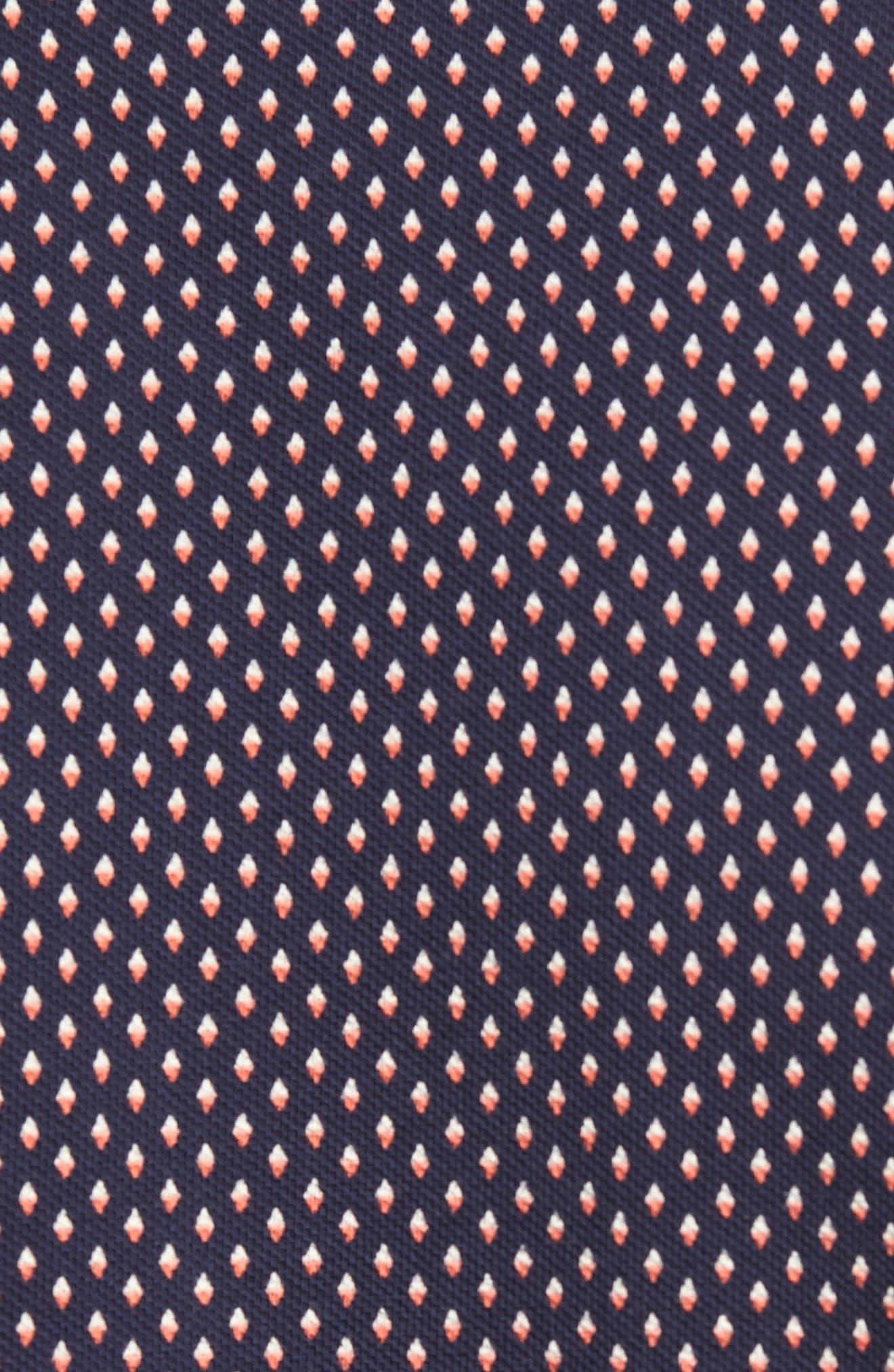 Ridley Print Sport Shirt,                             Alternate thumbnail 5, color,                             Blue