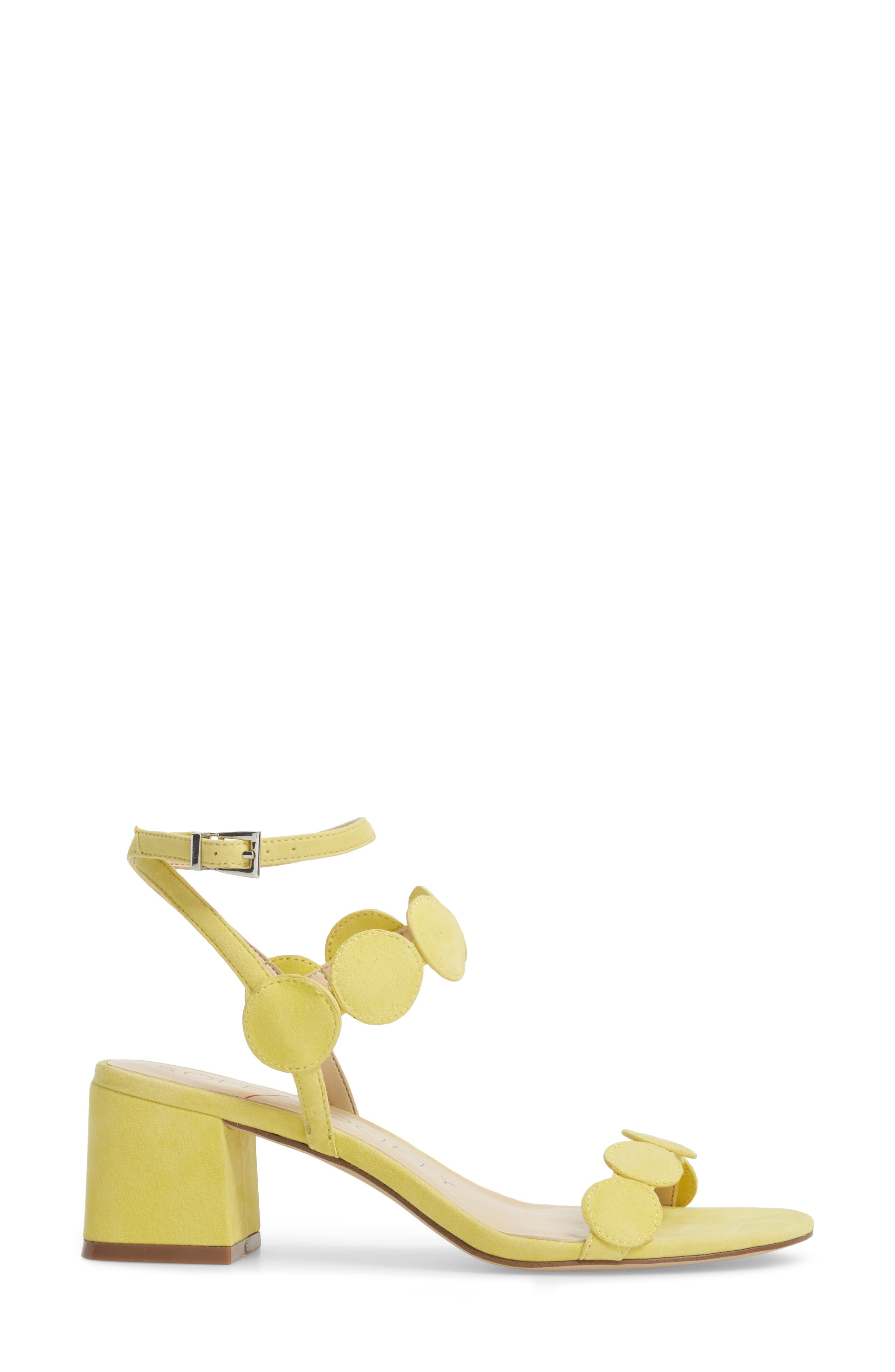 Alternate Image 3  - Sole Society Shea Block Heel Sandal (Women)