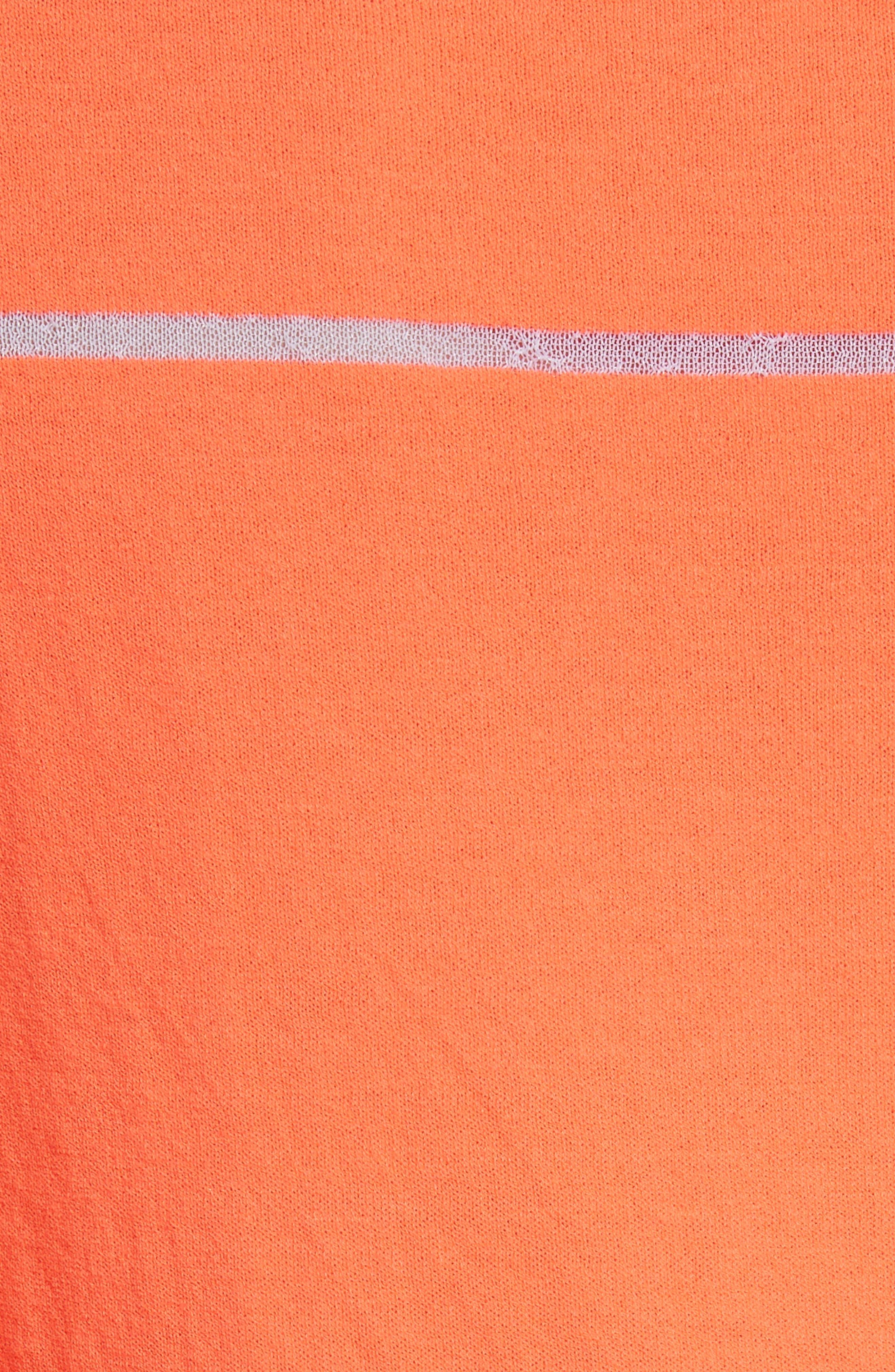 Alternate Image 6  - Neverbefore Illusion Stripe Crewneck Sweater