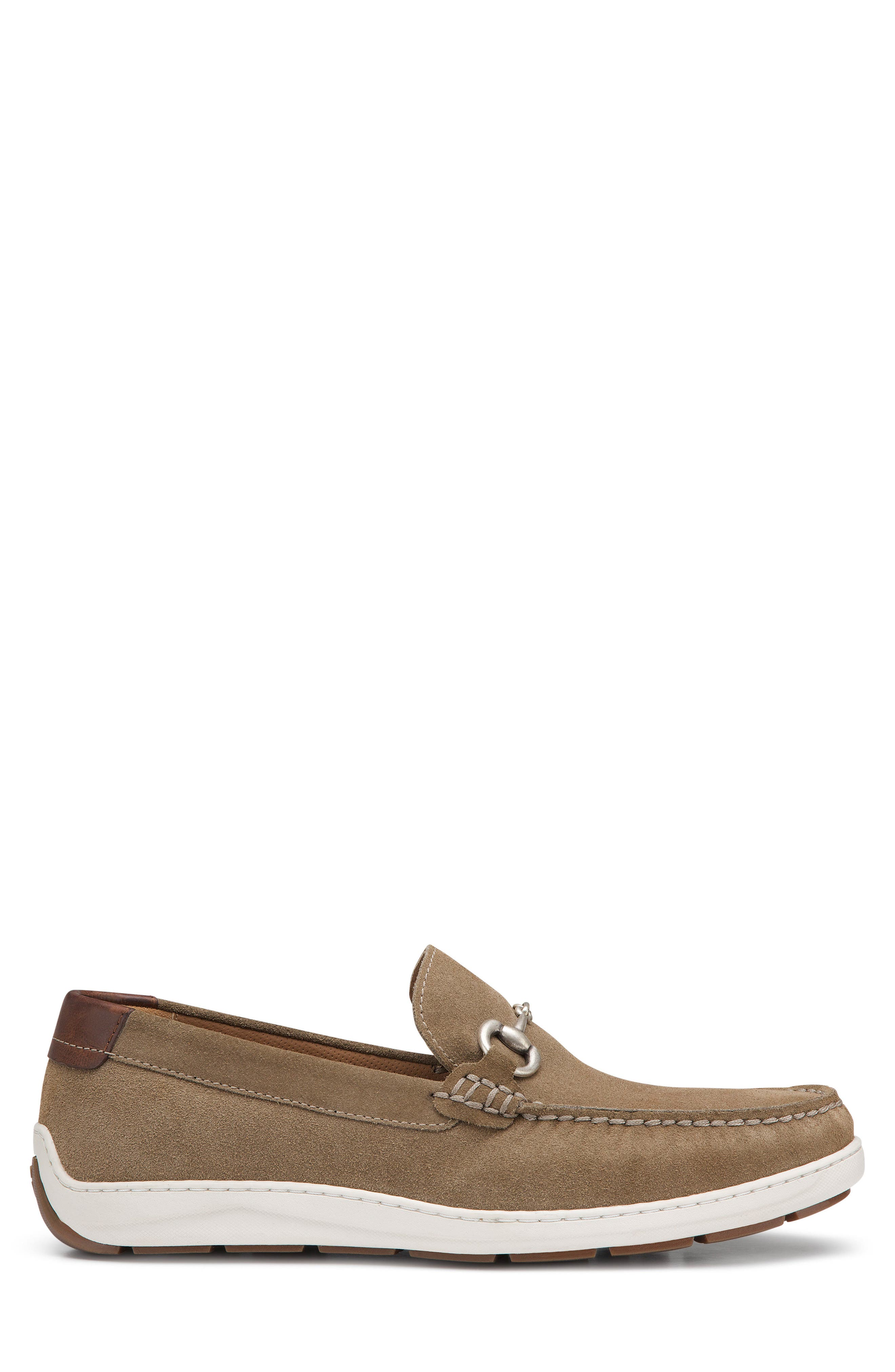 Stalworth Bit Loafer,                             Alternate thumbnail 5, color,                             Taupe Leather