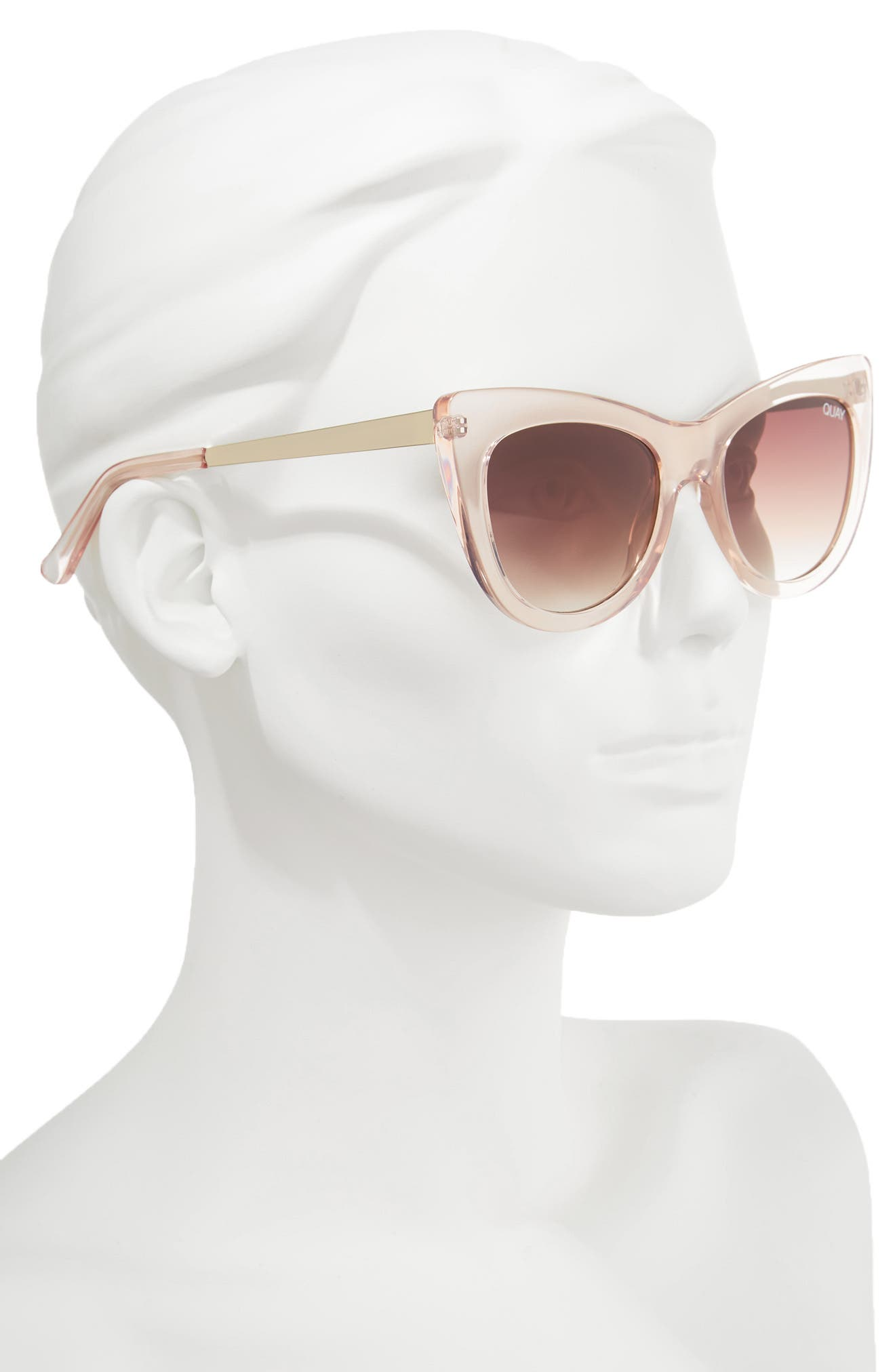 Alternate Image 4  - Quay Australia 53mm Steal a Kiss Cat-eye Sunglasses