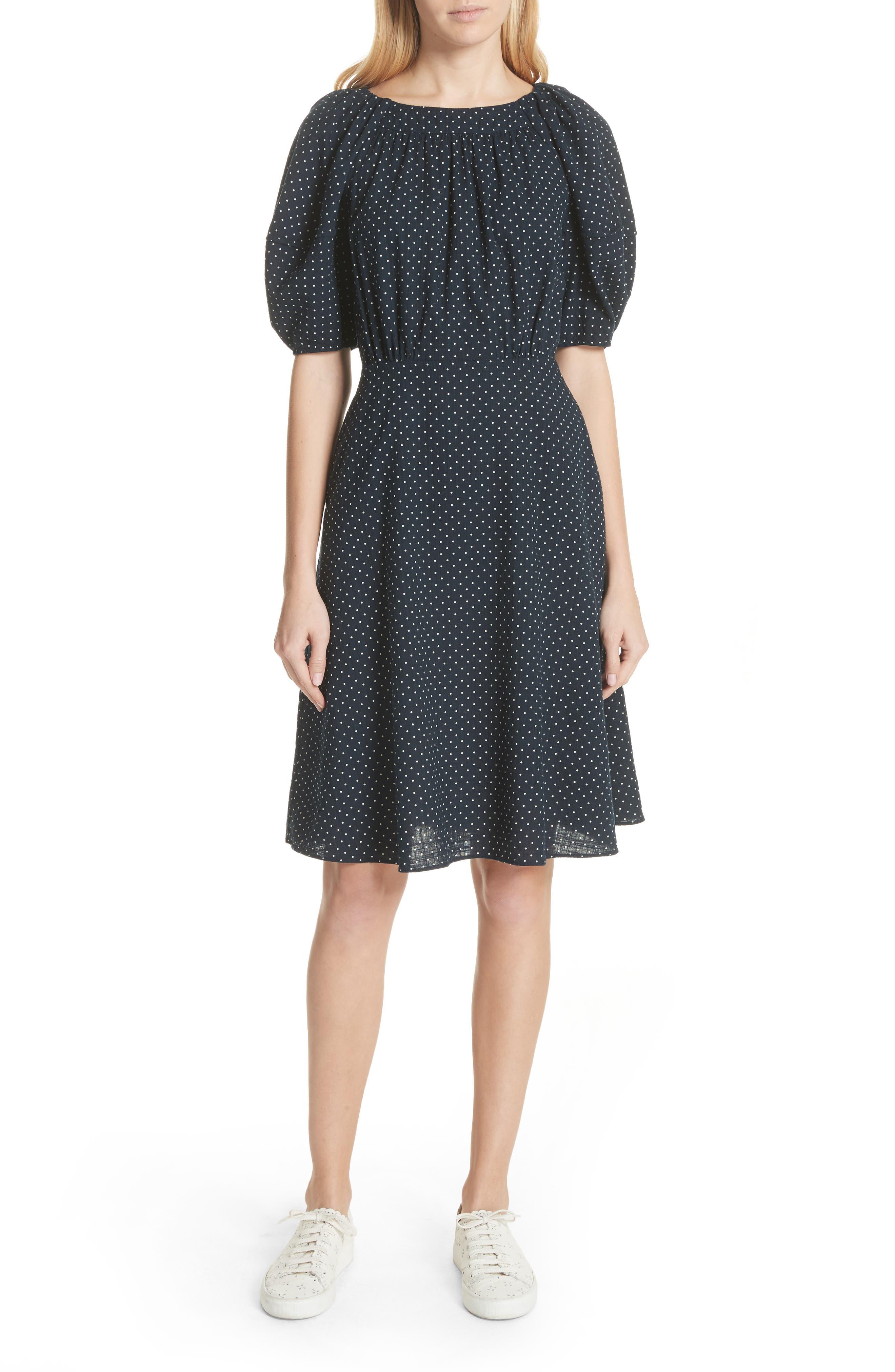 La Vie Rebecca Taylor Dahlia Dot Dress