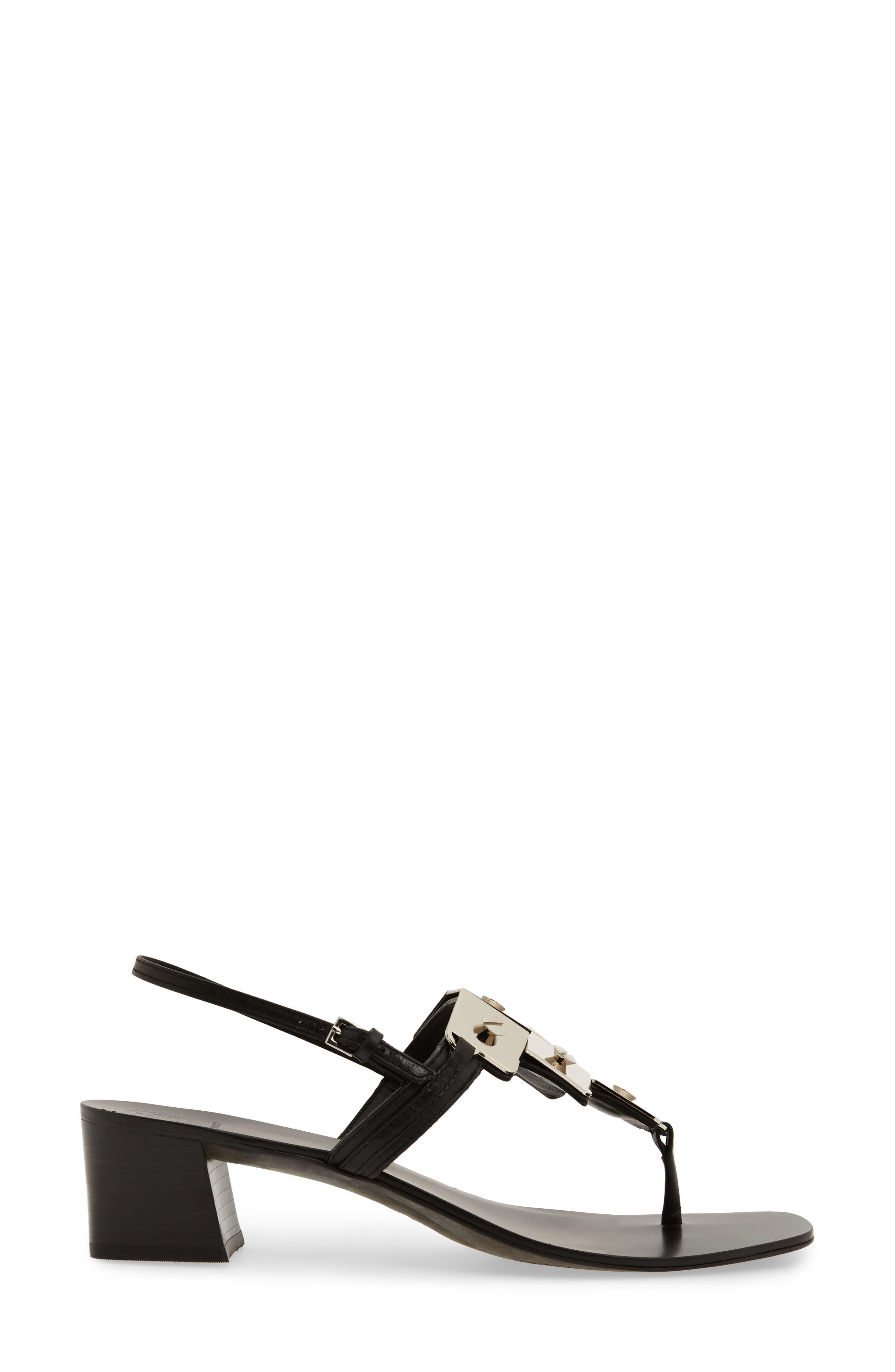 Thompson Sandal,                             Alternate thumbnail 3, color,                             Perfect Black
