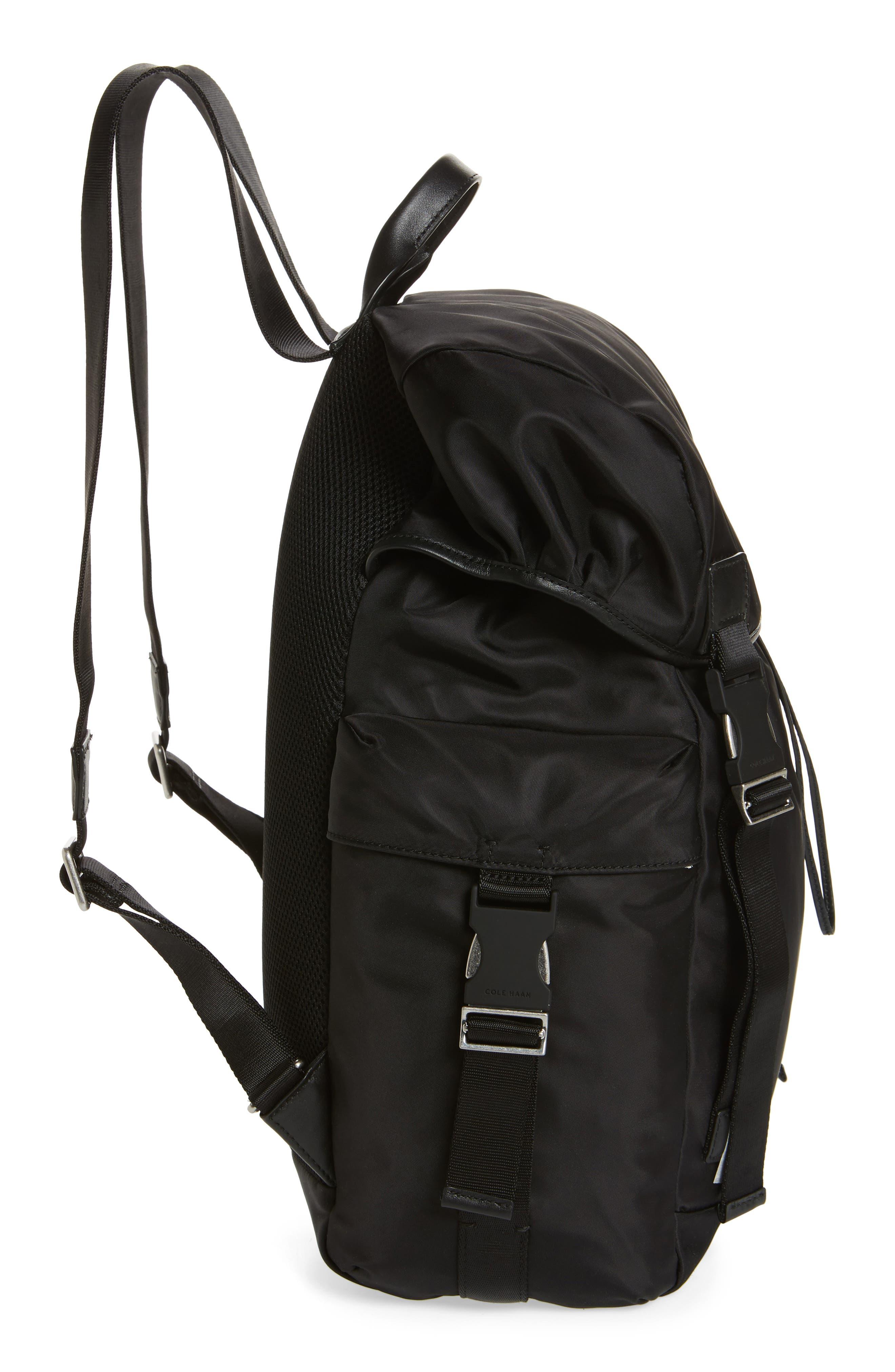 City Backpack,                             Alternate thumbnail 5, color,                             Black