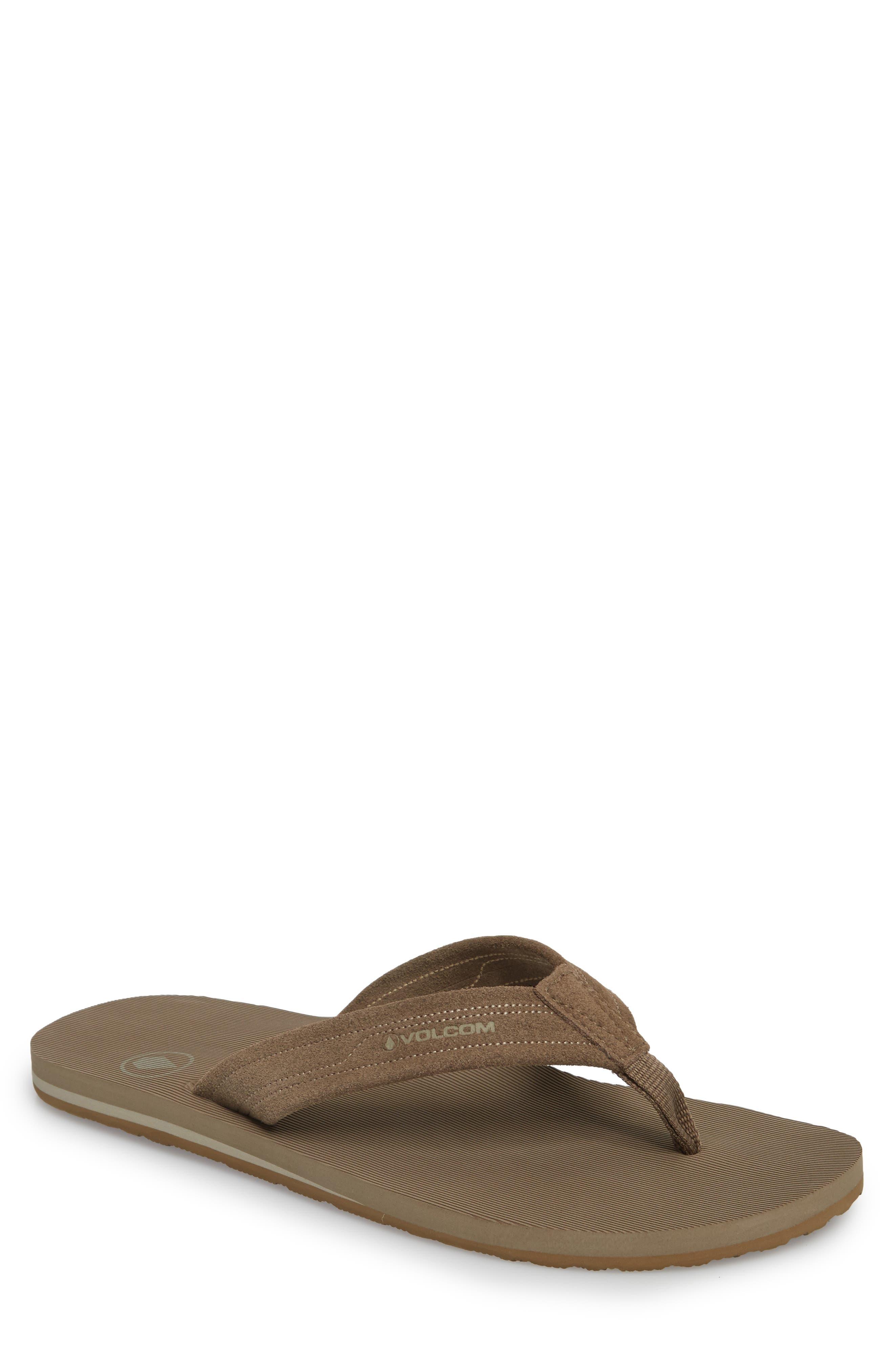 Driften Flip Flop,                         Main,                         color, Tan
