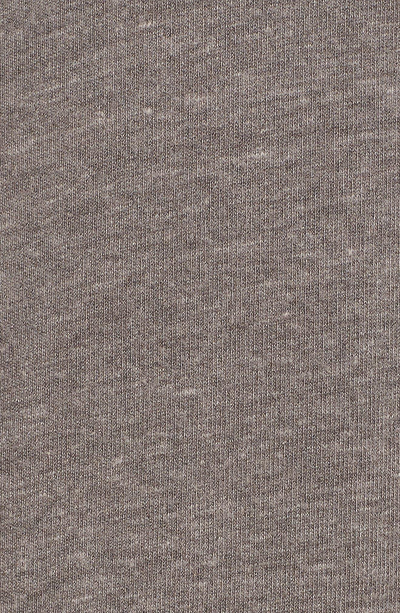 Erwin Hooded Dress,                             Alternate thumbnail 6, color,                             Heather Grey