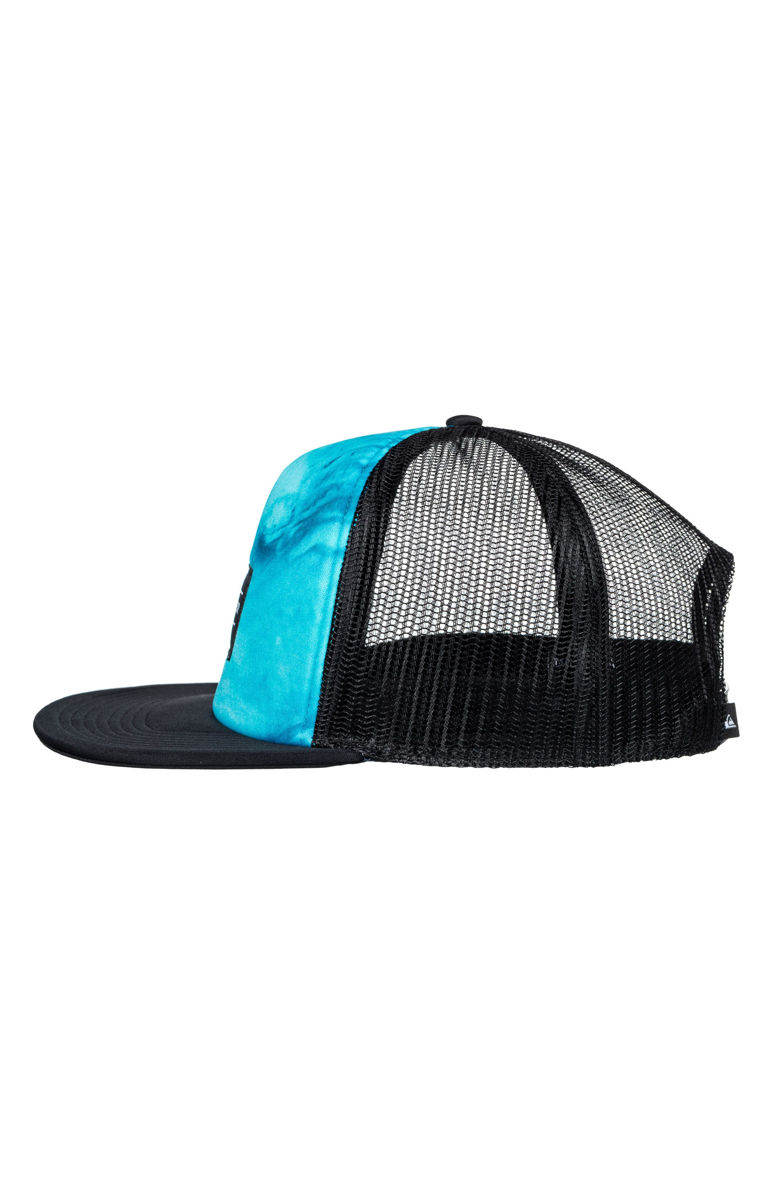 Brissells Snapback Trucker Hat,                             Alternate thumbnail 2, color,                             Black