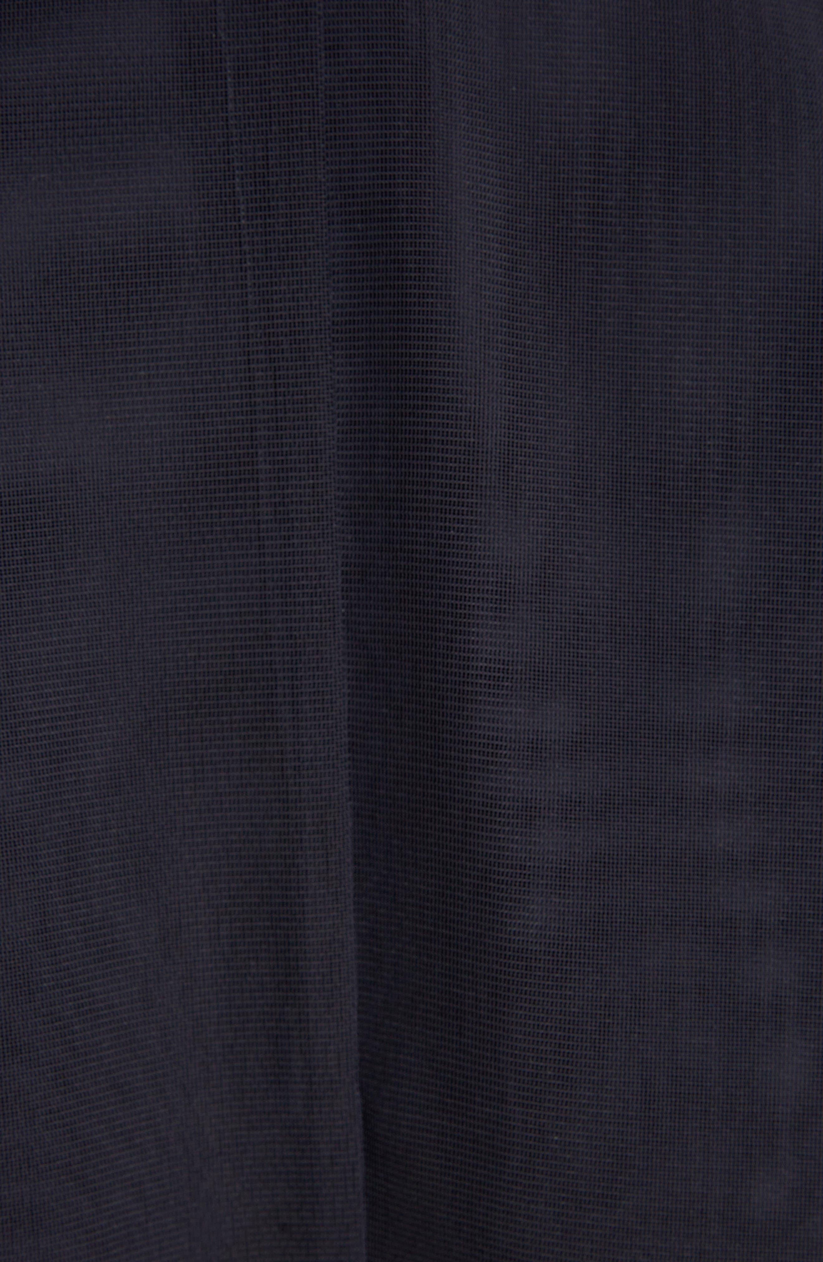 Transparent Trench Coat,                             Alternate thumbnail 6, color,                             Blue