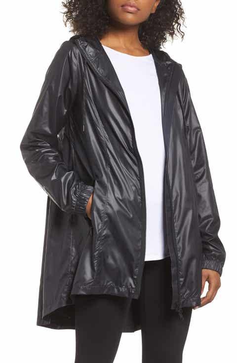Zella Femme Pleated Hooded Jacket