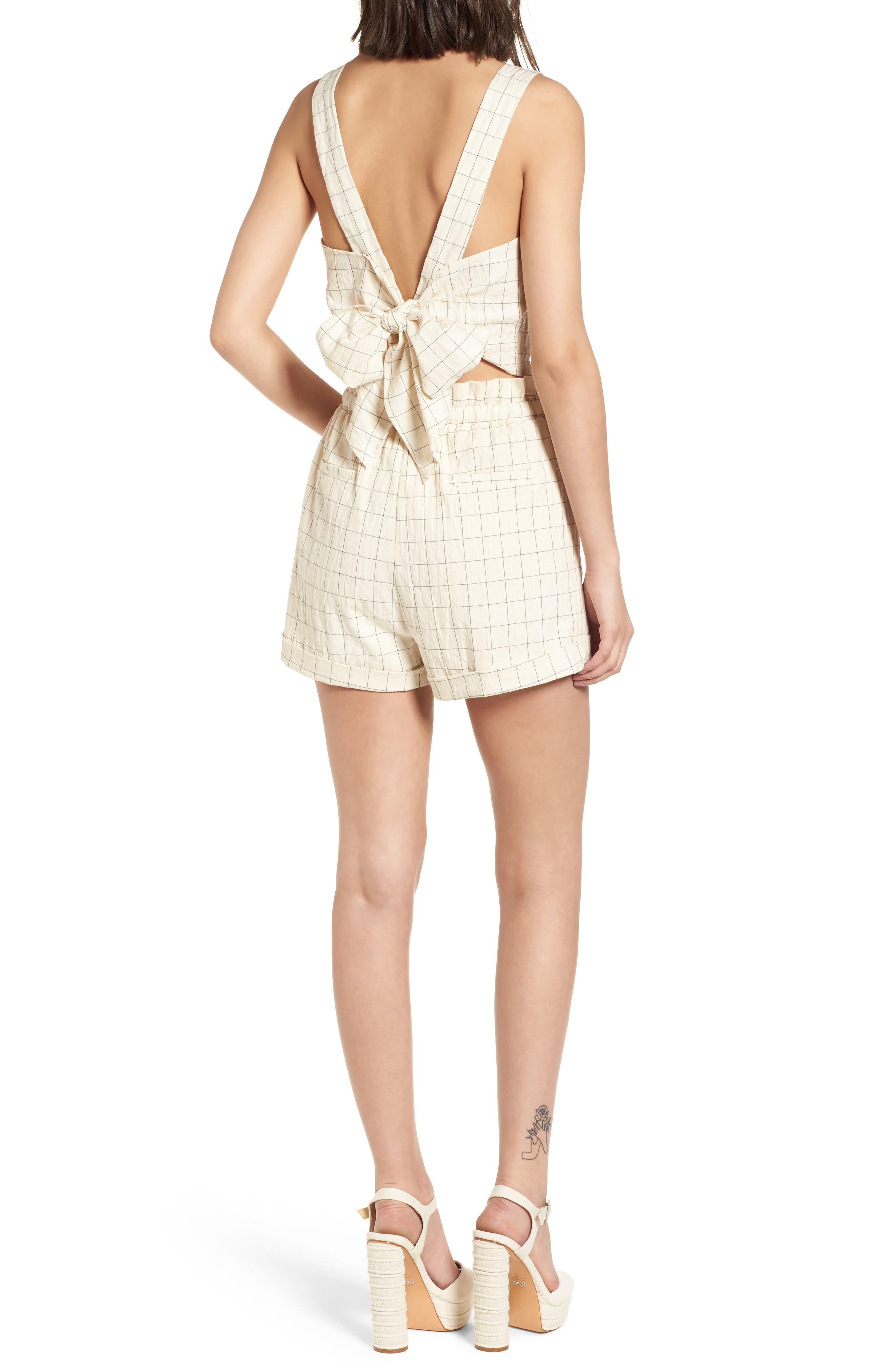 Drawstring Woven Shorts,                             Alternate thumbnail 2, color,                             Beige