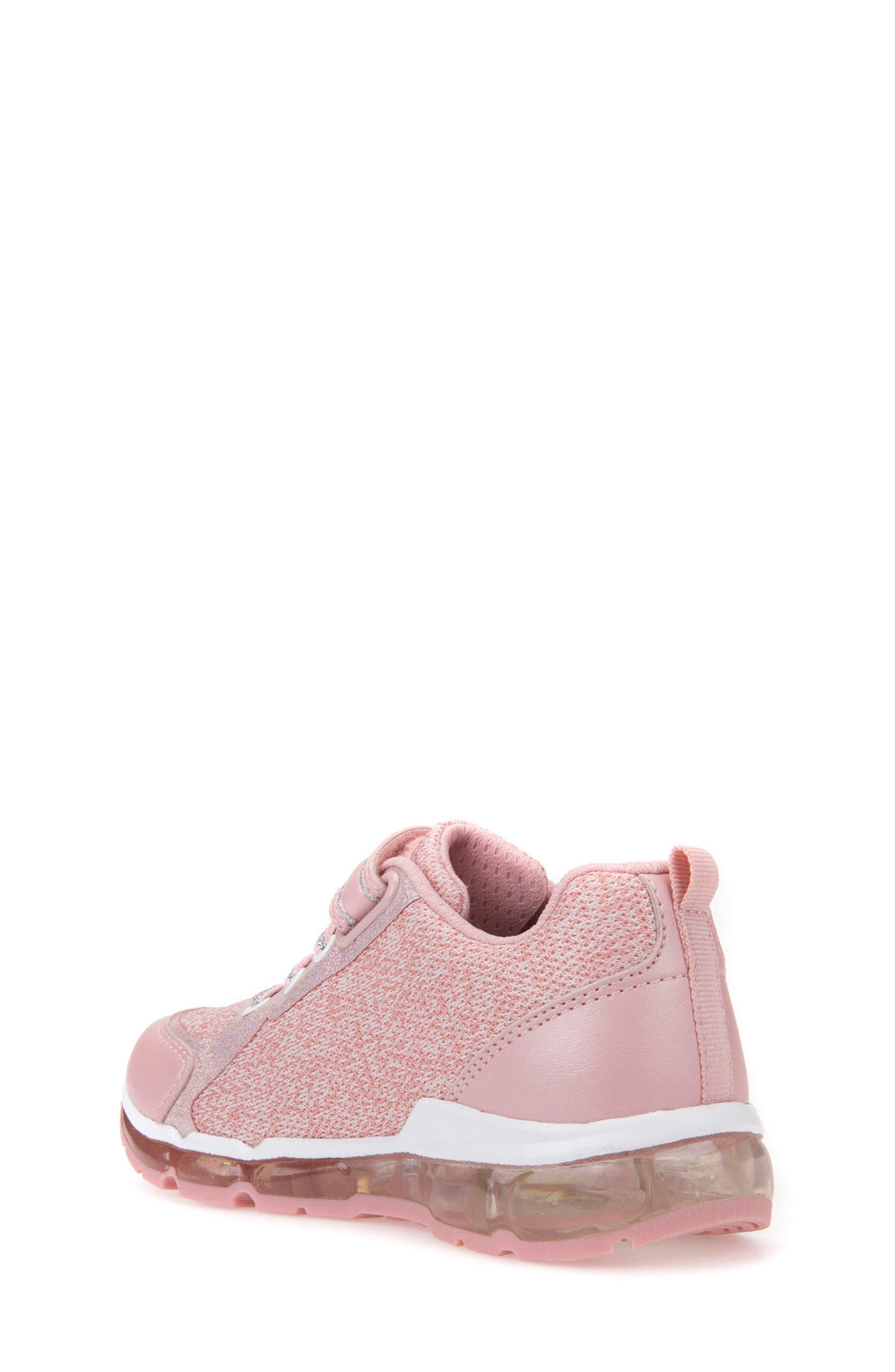 Android Light-Up Sneaker,                             Alternate thumbnail 2, color,                             Rose/ White