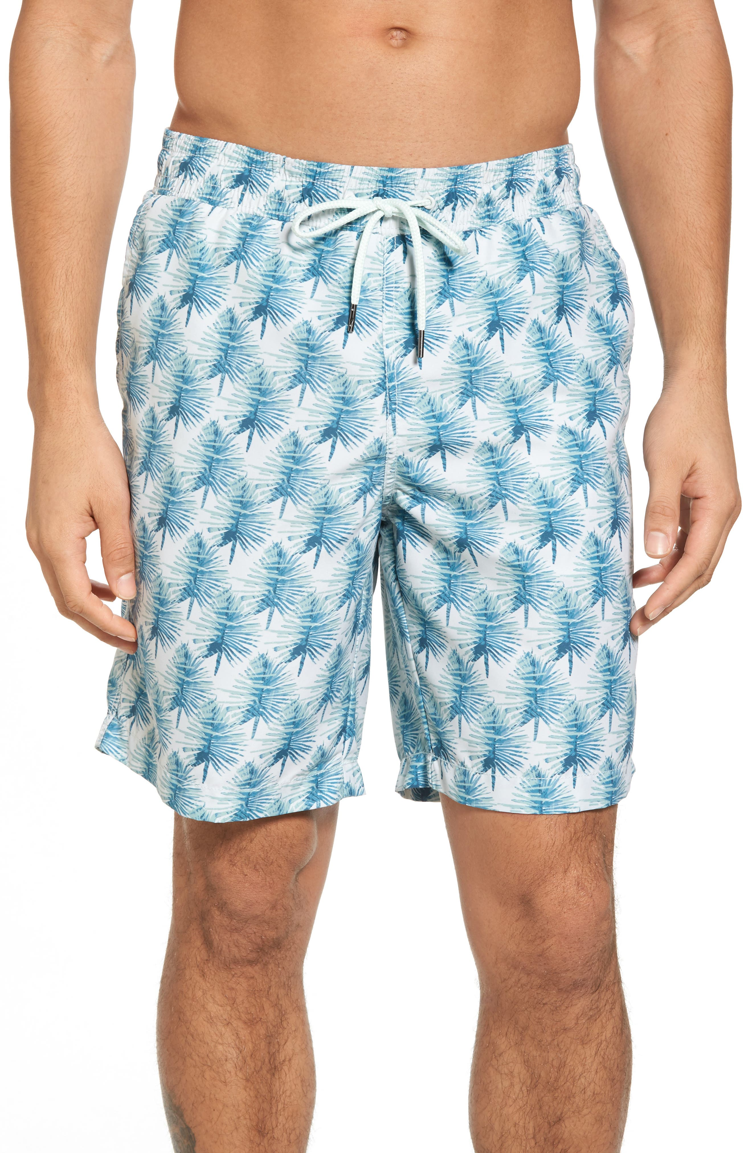 Alternate Image 1 Selected - Grayers Hand Palm Swim Trunks