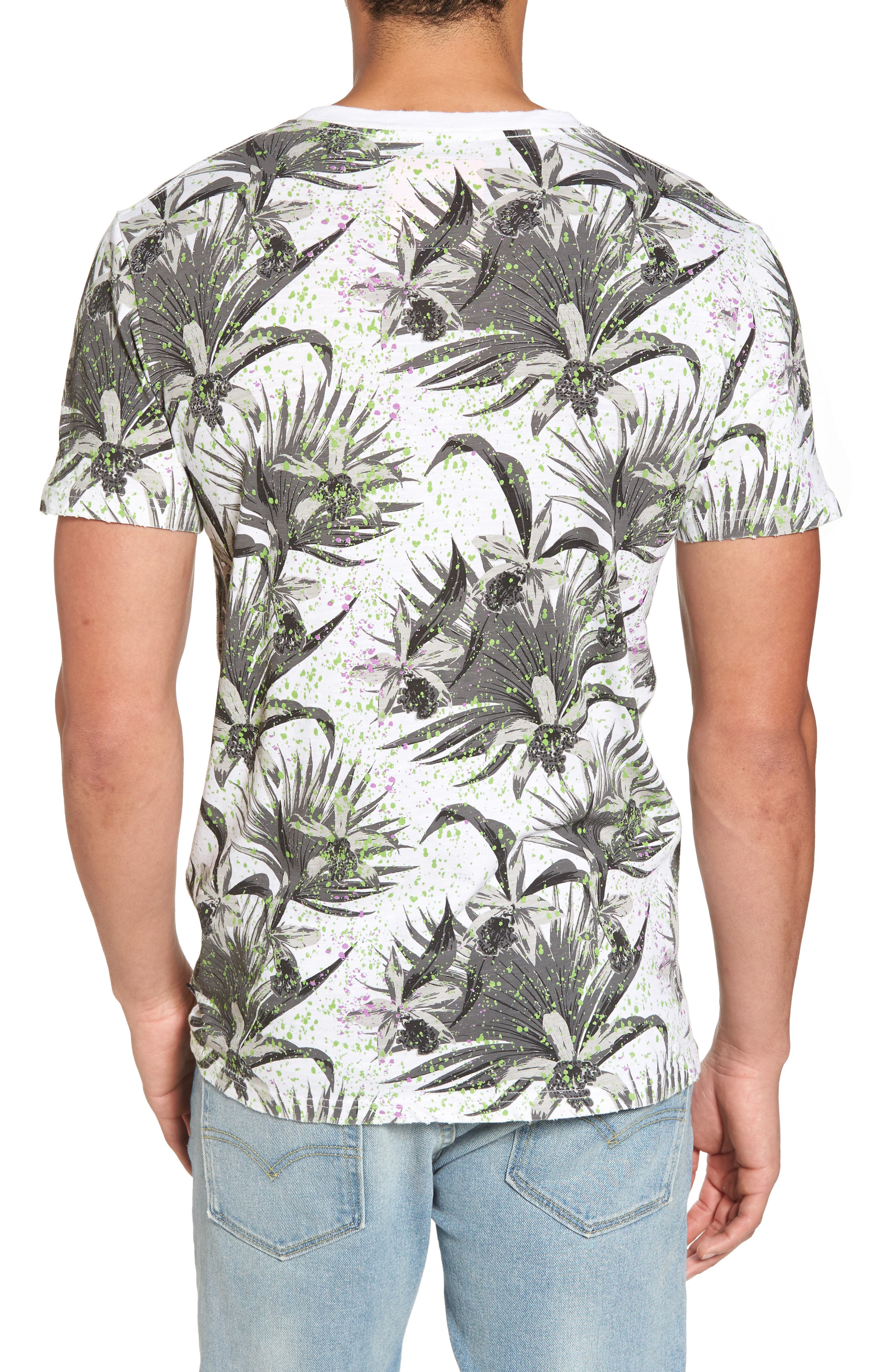 Shirt Shop Aop T-Shirt,                             Alternate thumbnail 2, color,                             Optic