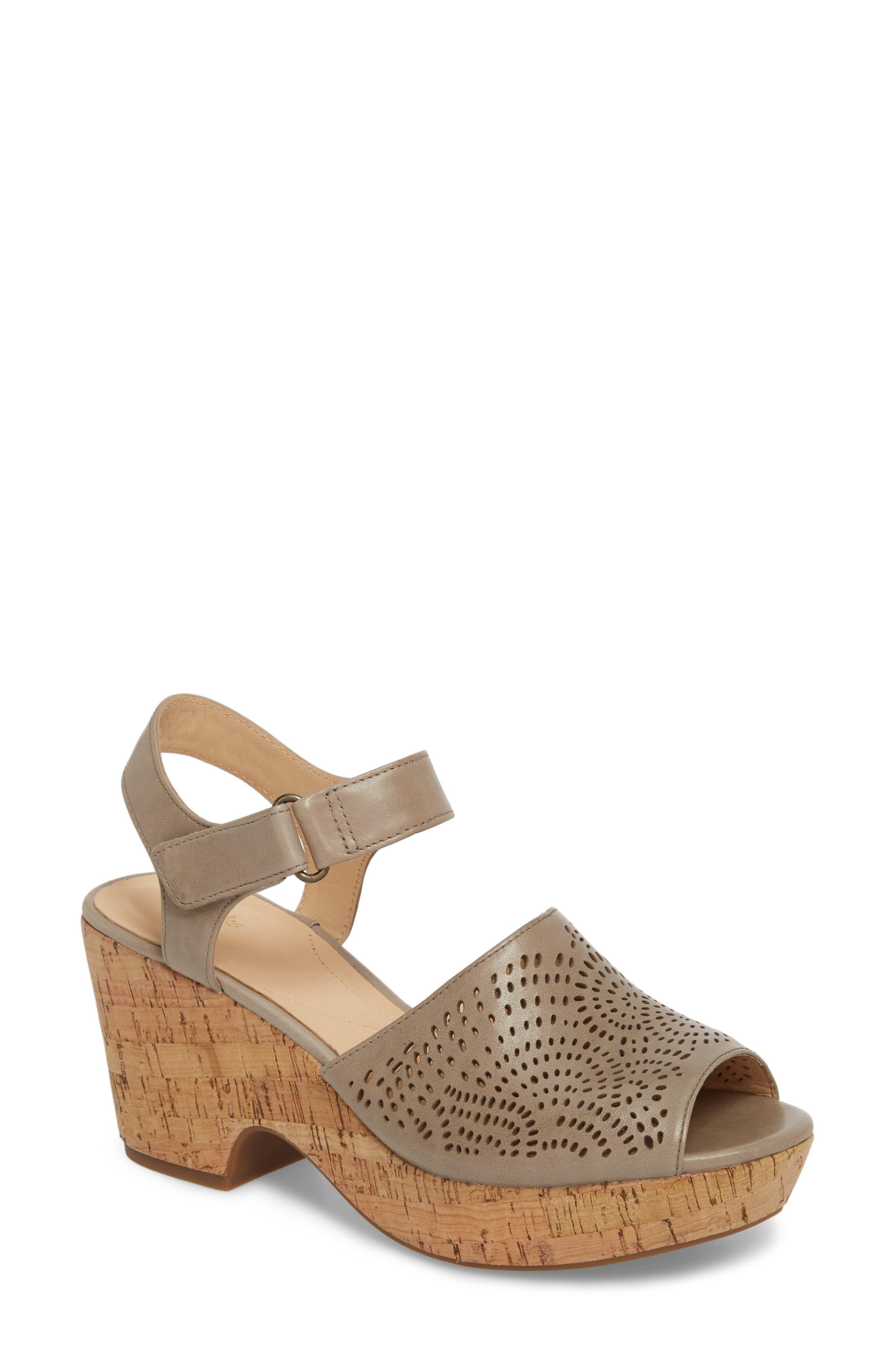 Main Image - Clarks® Maritsa Nila Platform Sandal (Women)