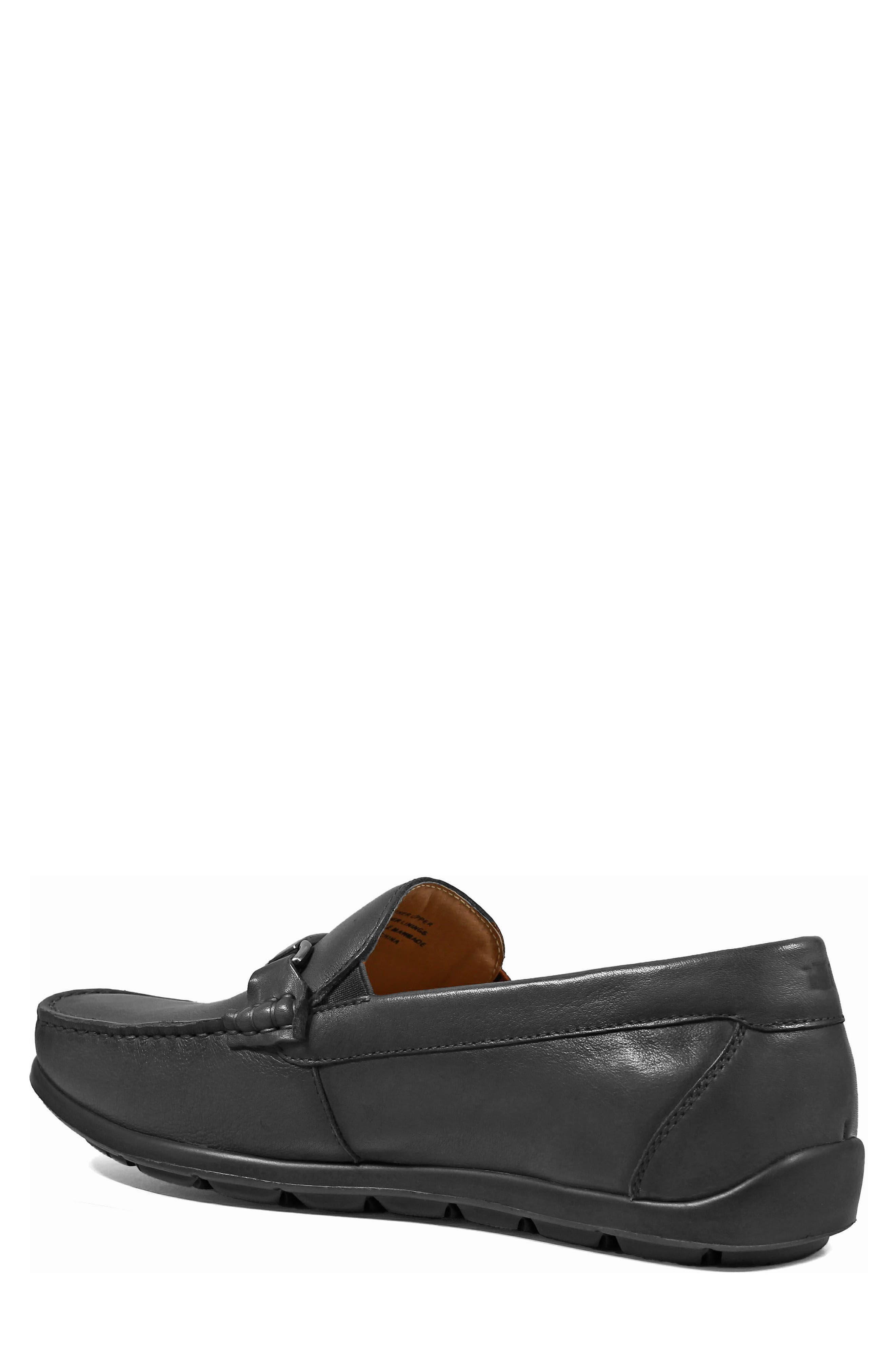 Comfortech Bit Loafer,                             Alternate thumbnail 2, color,                             Black Smooth