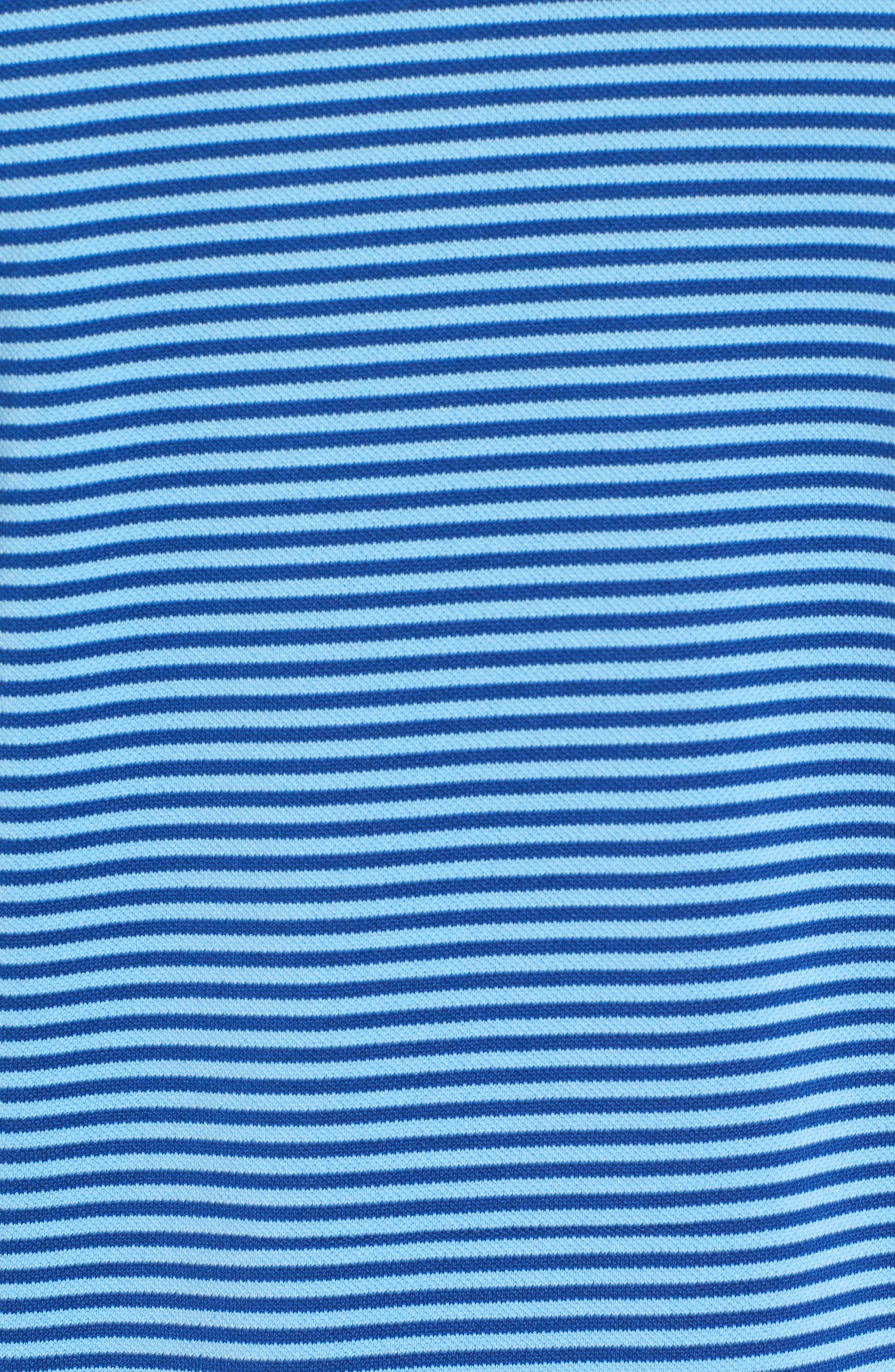 Alternate Image 5  - Southern Tide Regular Fit Stripe Stretch Polo