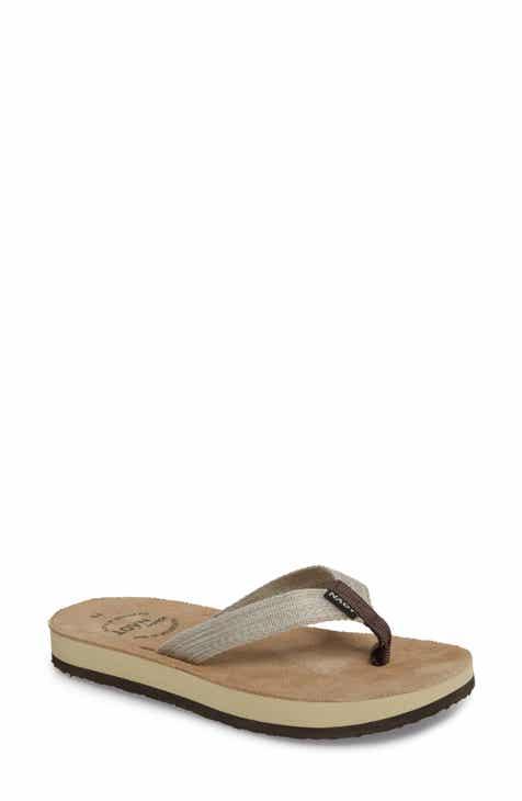 b2336b5bea09b Women s Brown Flat Heeled Sandals