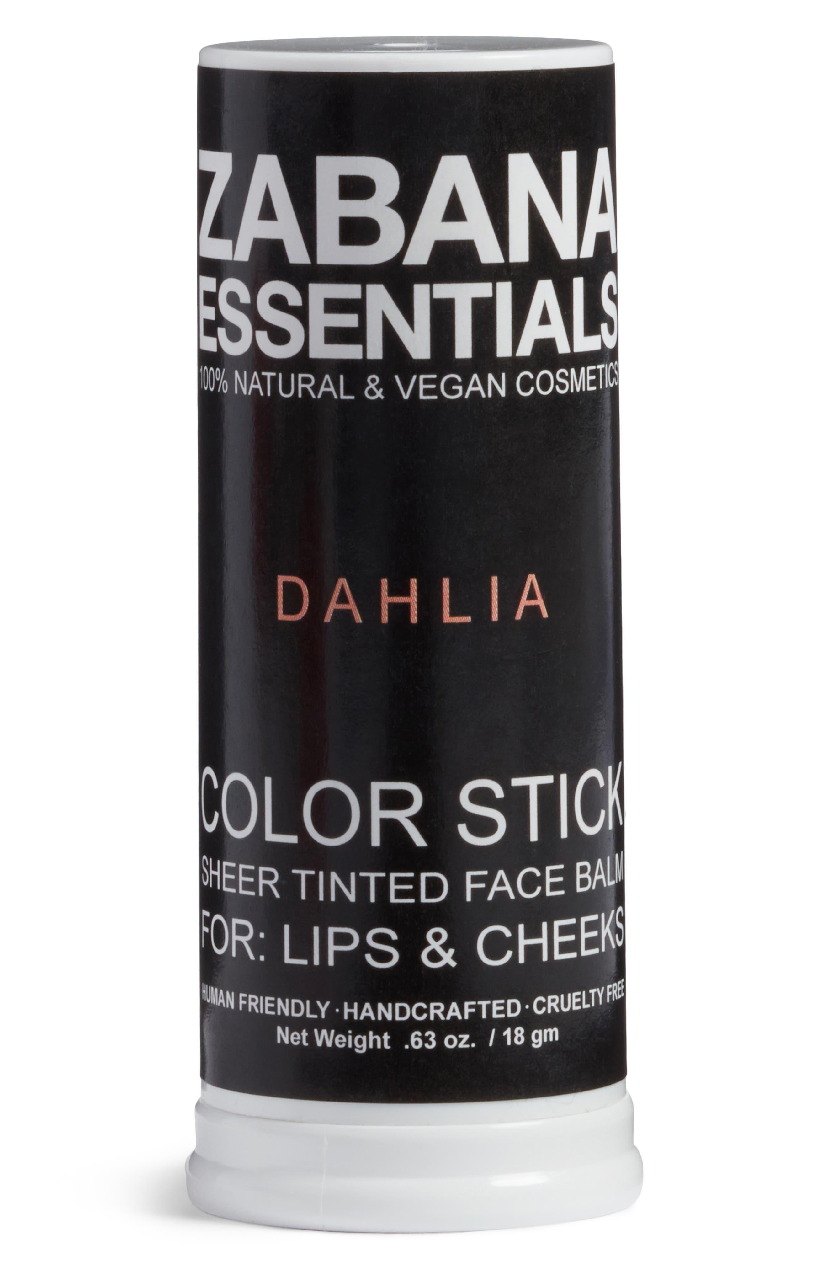 Color Stick Sheer Tinted Lip & Cheek Balm,                             Alternate thumbnail 2, color,                             Dahlia