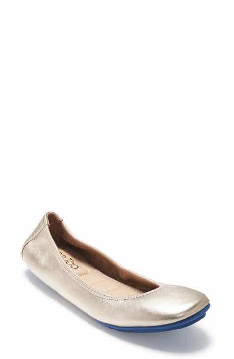 4a714af8cc677 Women s Metallic Flats   Ballet Flats