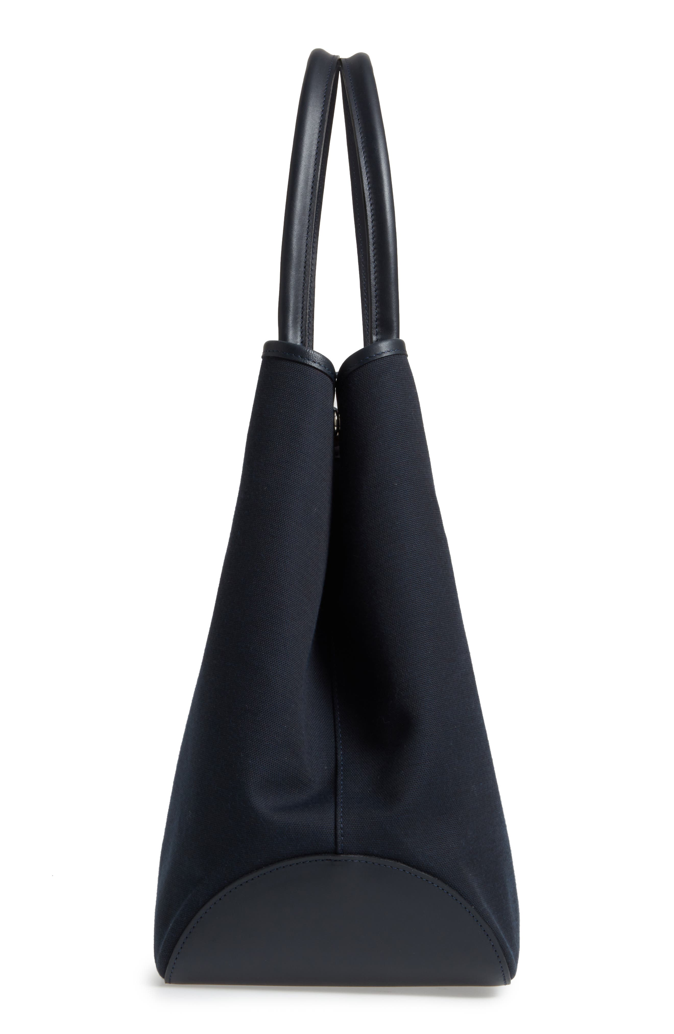 Roseau 1948 Extra Large Tote,                             Alternate thumbnail 5, color,                             Navy