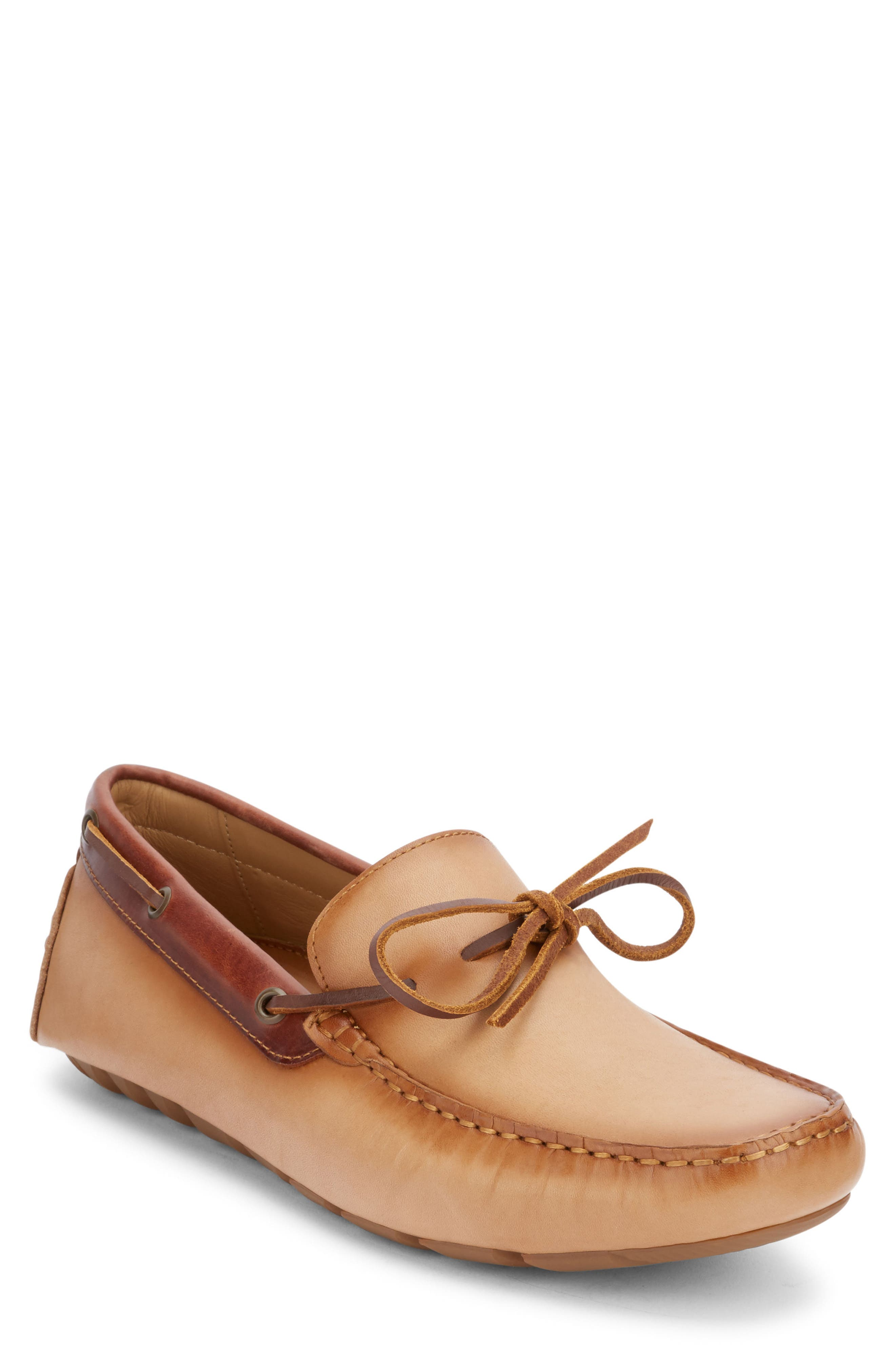 Wyatt Driving Shoe,                             Main thumbnail 1, color,                             Vachetta Leather