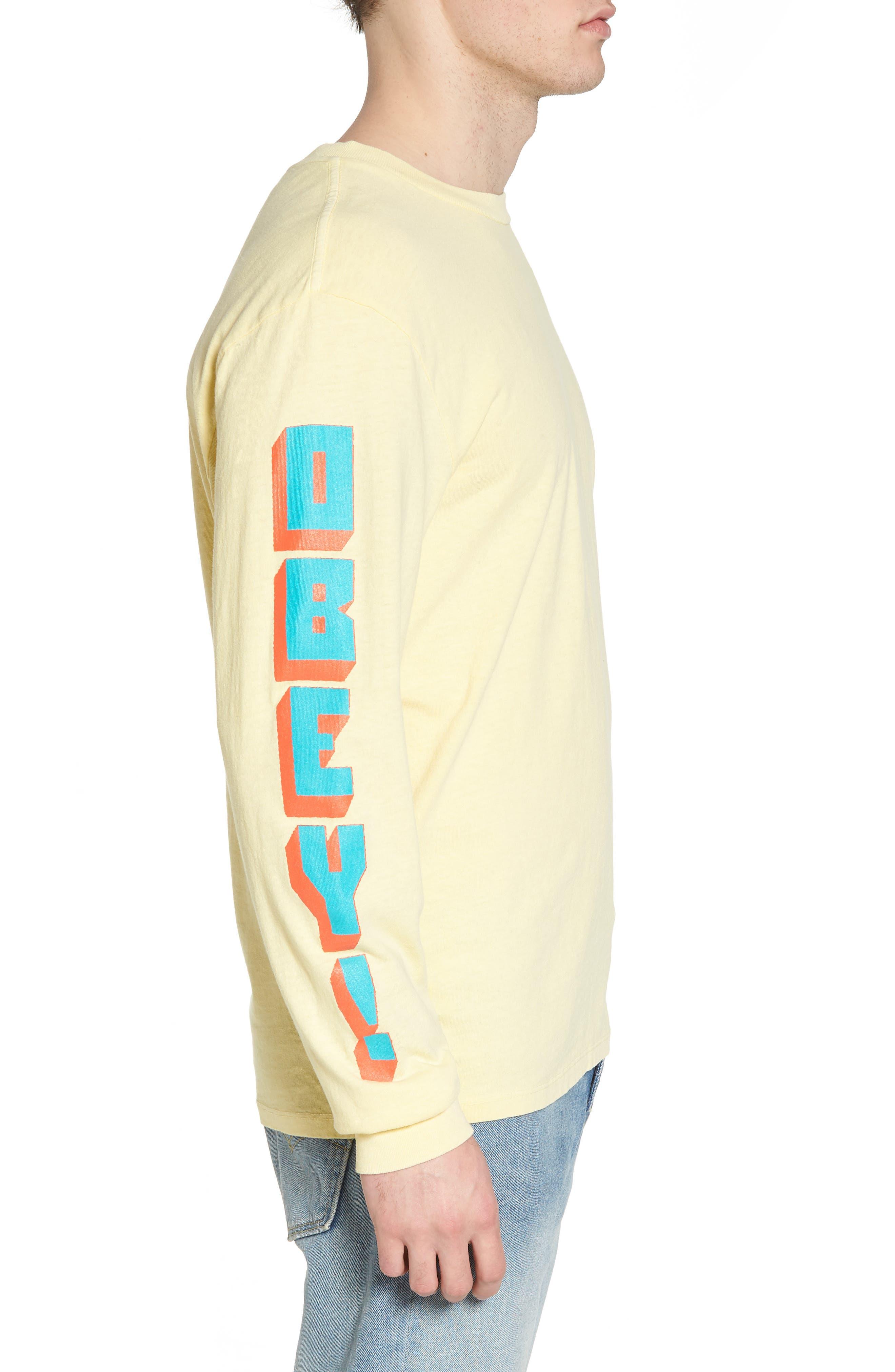 New World II Pigment T-Shirt,                             Alternate thumbnail 3, color,                             Dusty Lemon