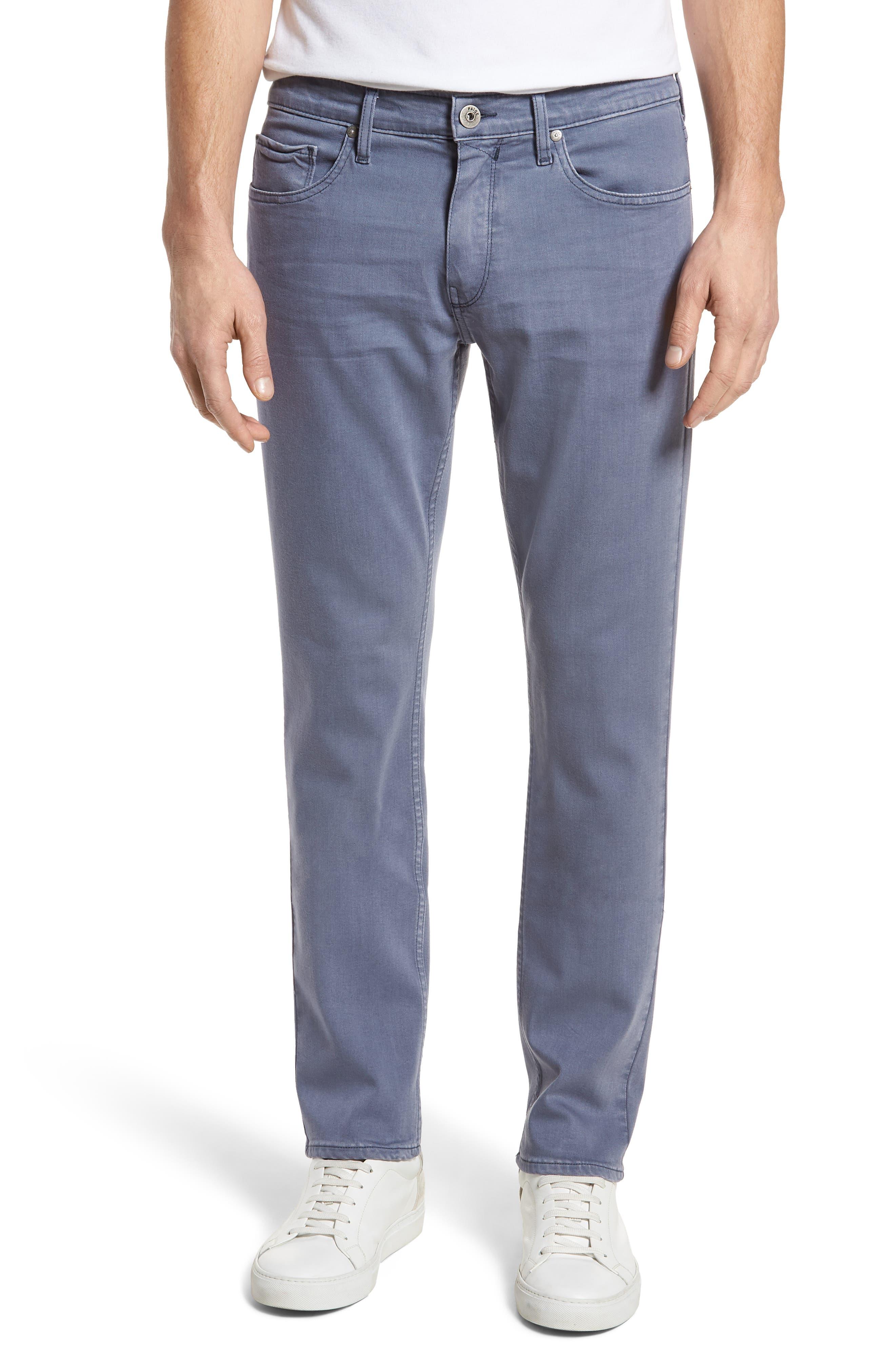 Transcend - Federal Slim Straight Leg Jeans,                             Main thumbnail 1, color,                             Vintage Smokey Blue