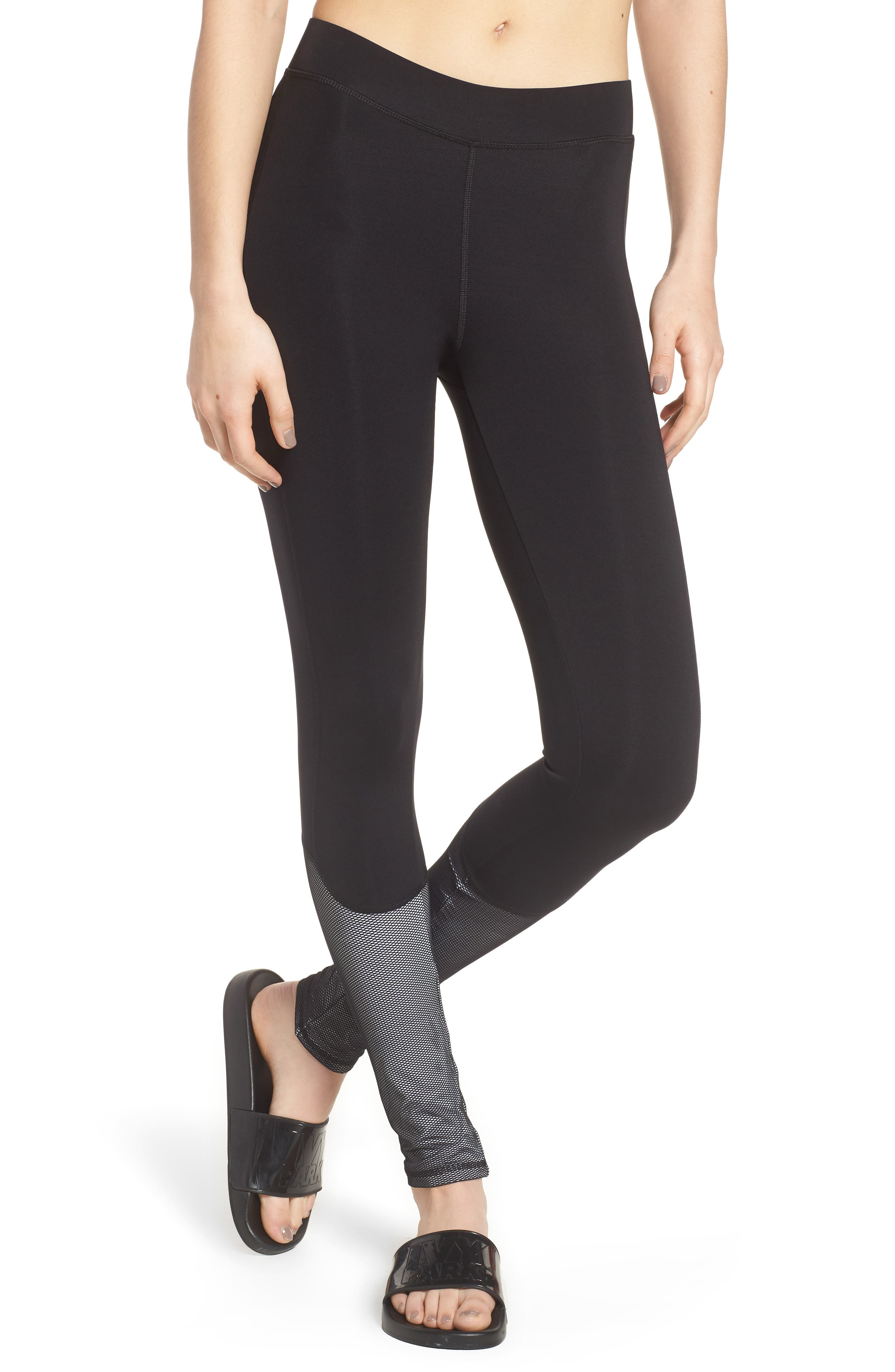 IVY PARK® Mesh Panel Leggings