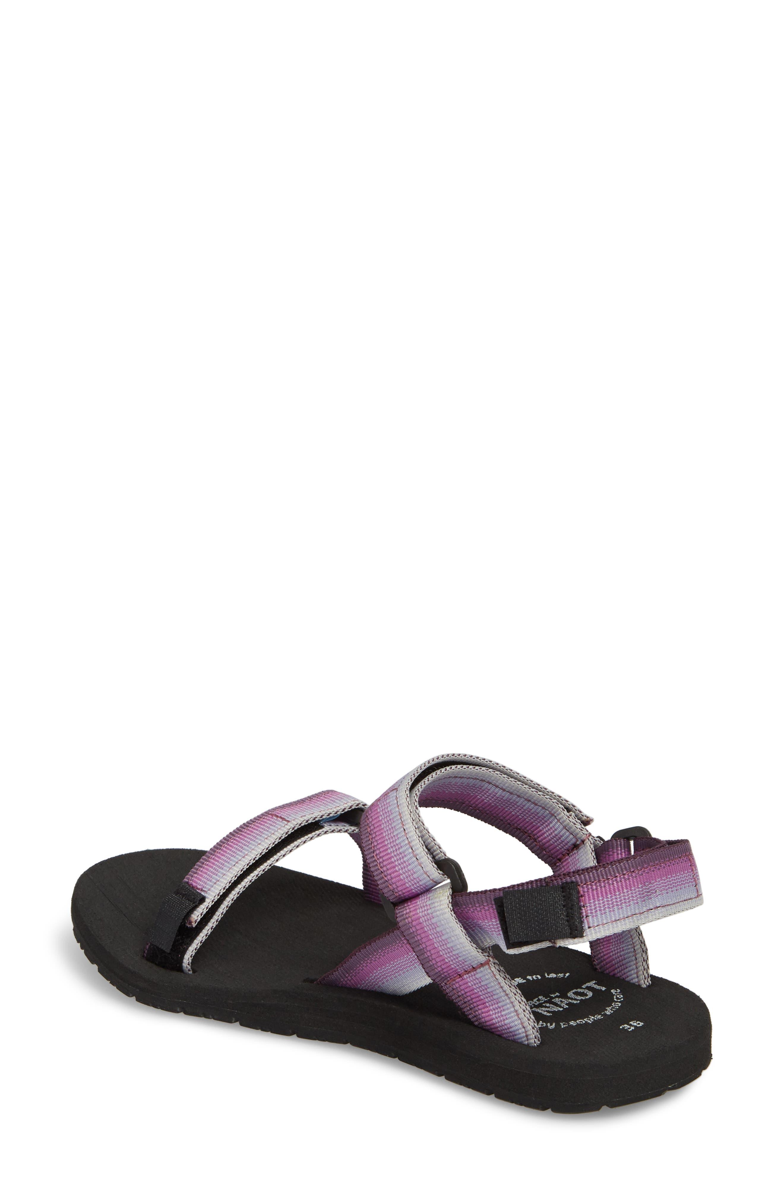 Haven Waterproof Sandal,                             Alternate thumbnail 2, color,                             Purple Sunset Fabric