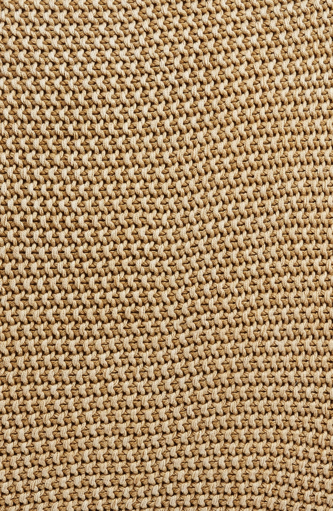 Seed Stitch Accent Pillow,                             Alternate thumbnail 3, color,                             Olive Estate