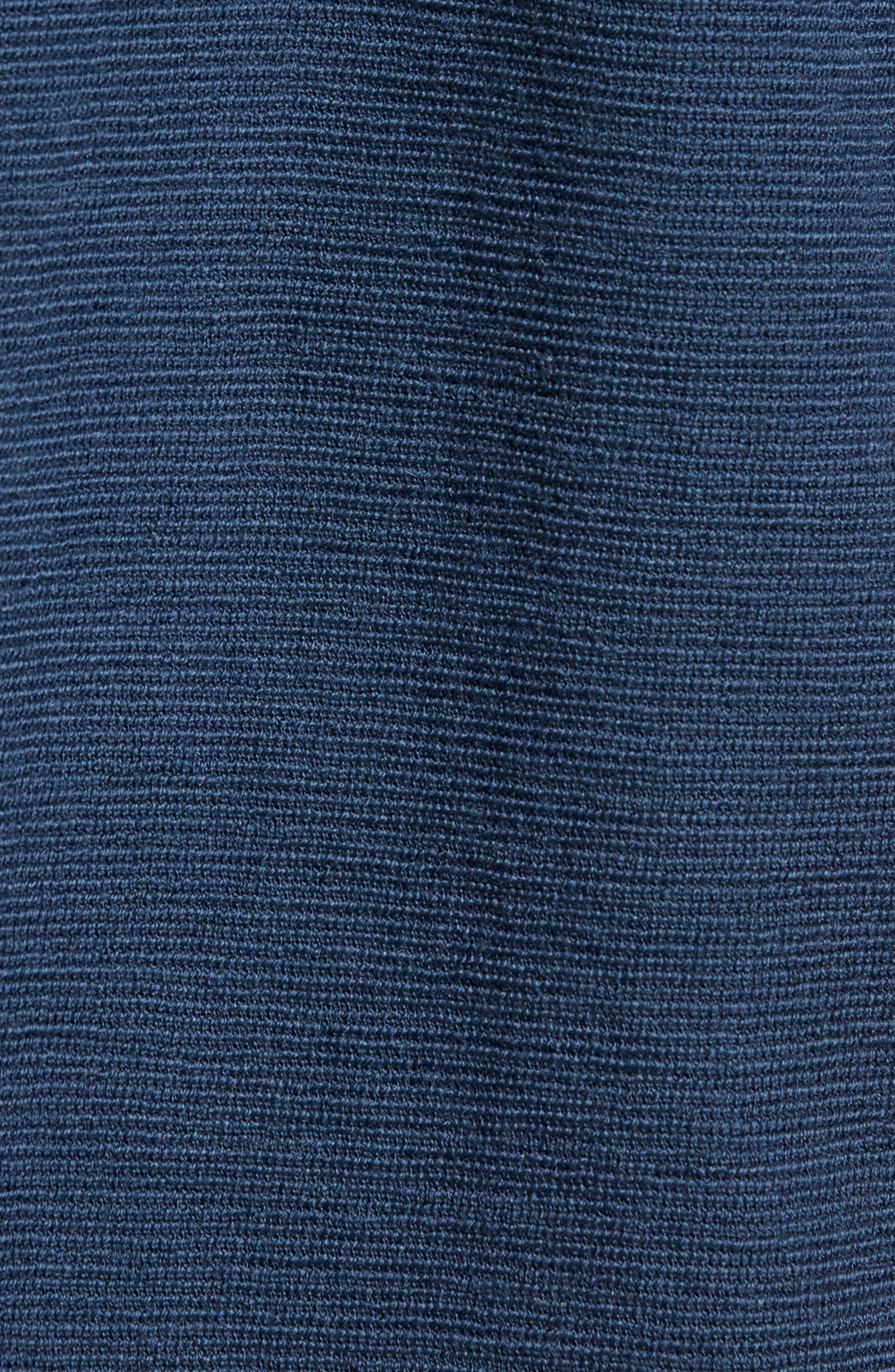 Origo Wool Hoodie,                             Alternate thumbnail 5, color,                             Still Blue