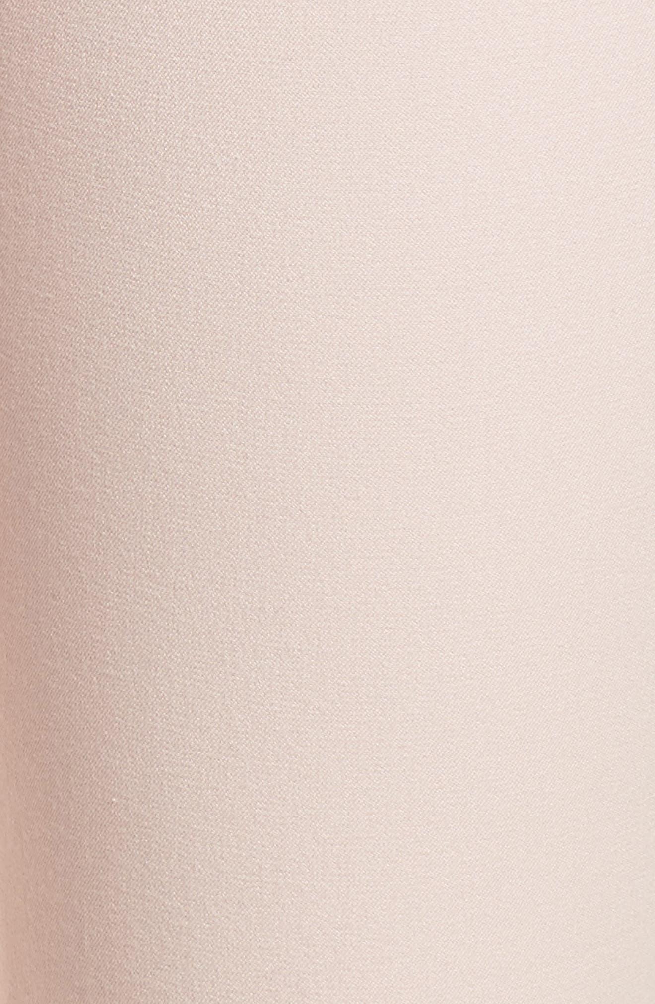 Lace-Up Ankle Leggings,                             Alternate thumbnail 5, color,                             Blush