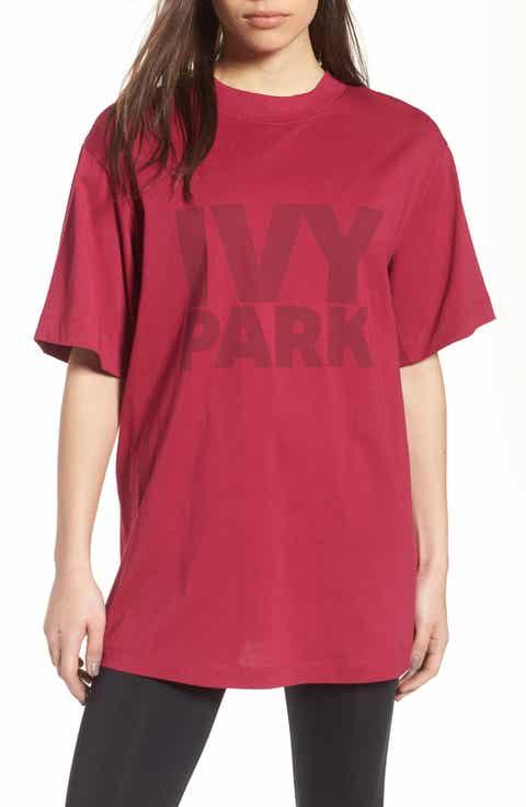 IVY PARK® Programme Oversize Logo Tee