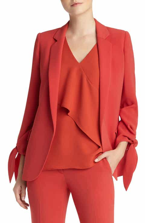Lafayette 148 New York Bria Finesse Crepe Jacket Cheap