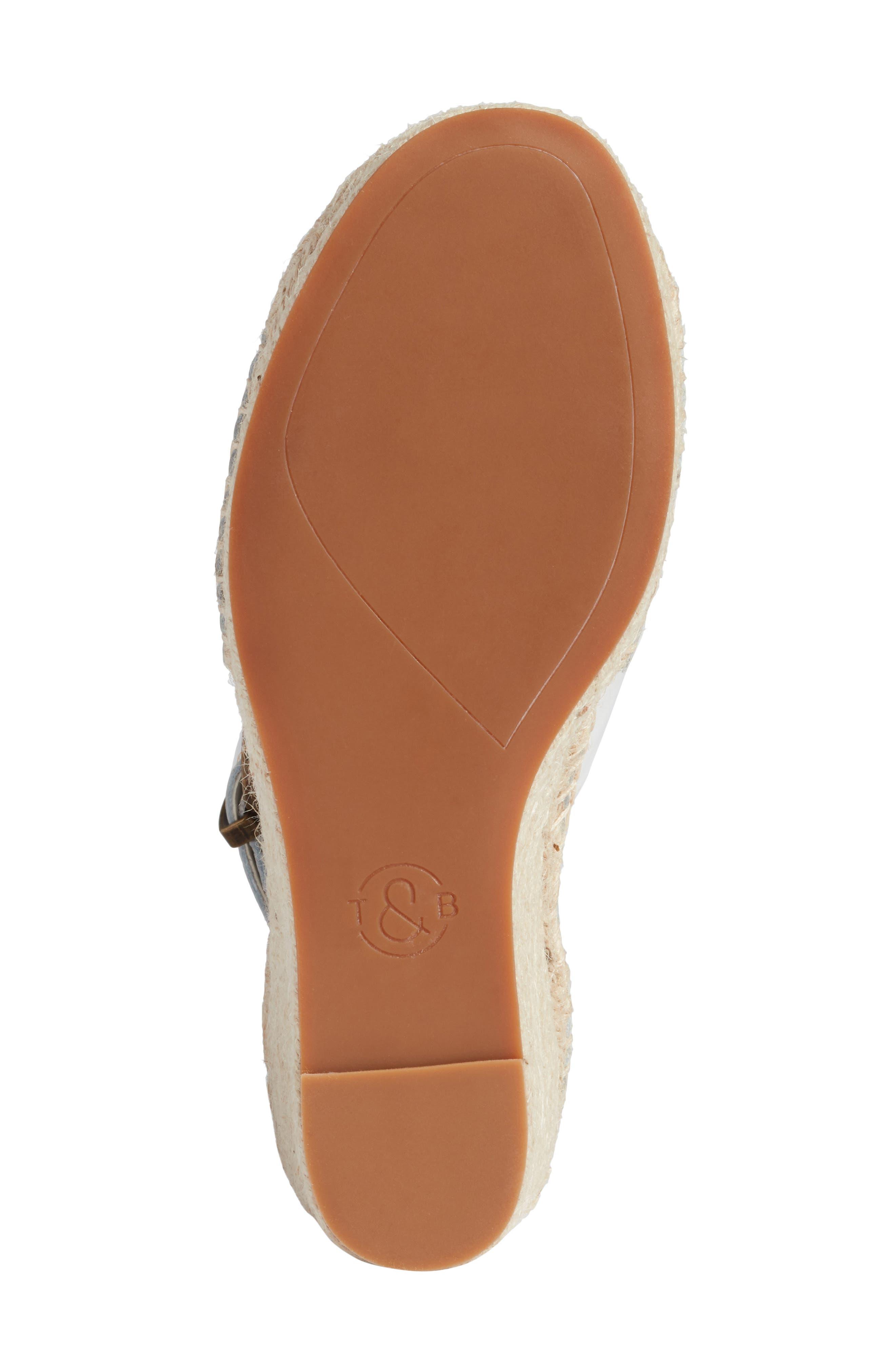 Alternate Image 6  - Treasure & Bond Sannibel Platform Wedge Sandal (Women)