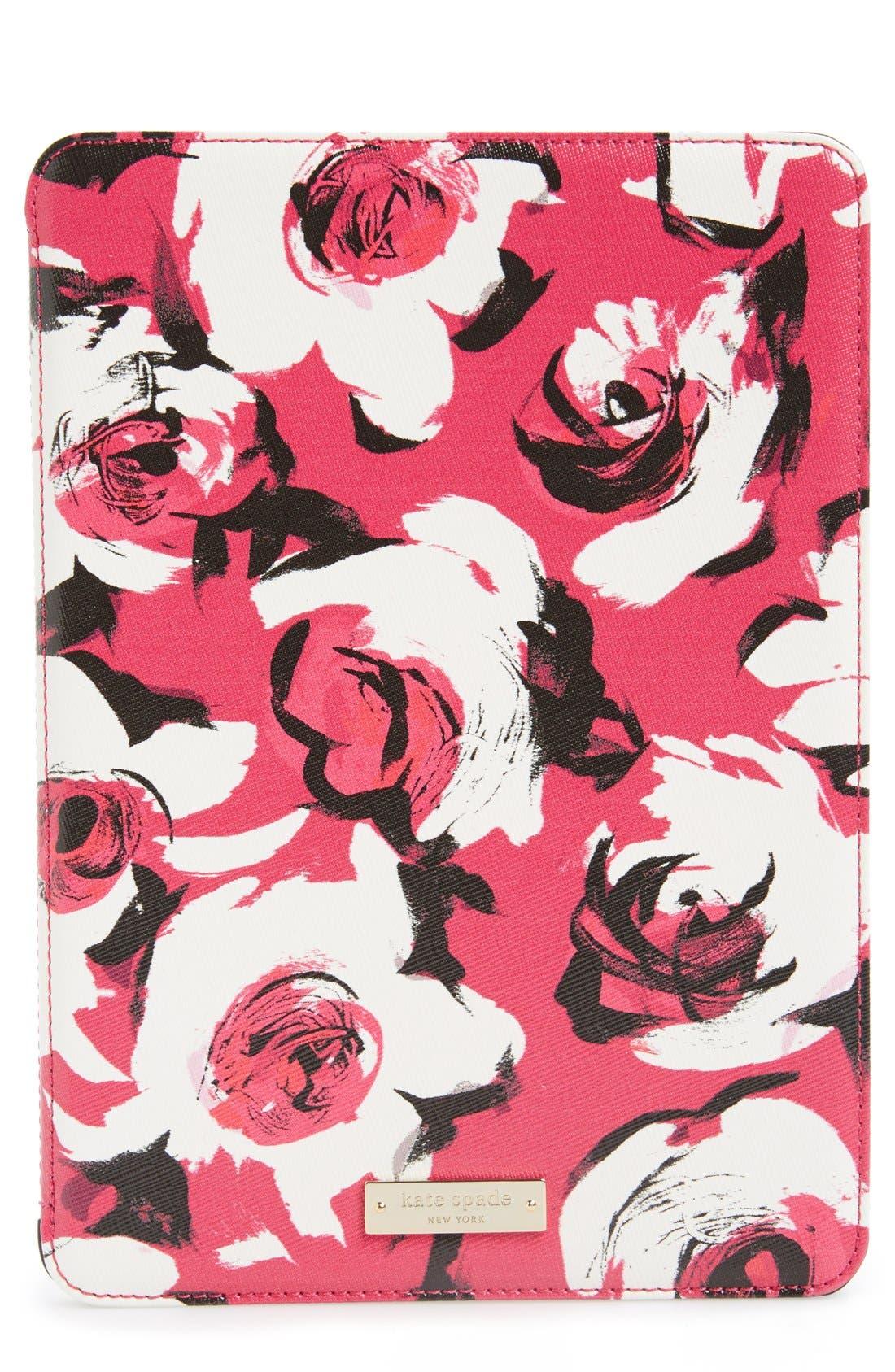 Alternate Image 1 Selected - kate spade new york 'romantic floral' iPad Air case