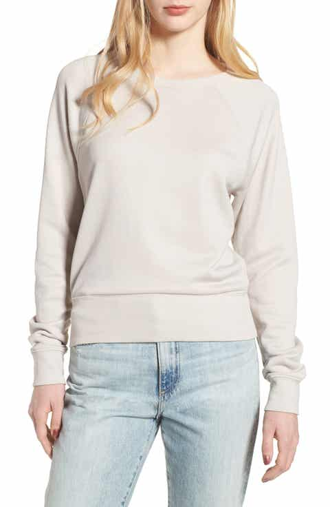 James Perse Shrunken Fleece Sweatshirt