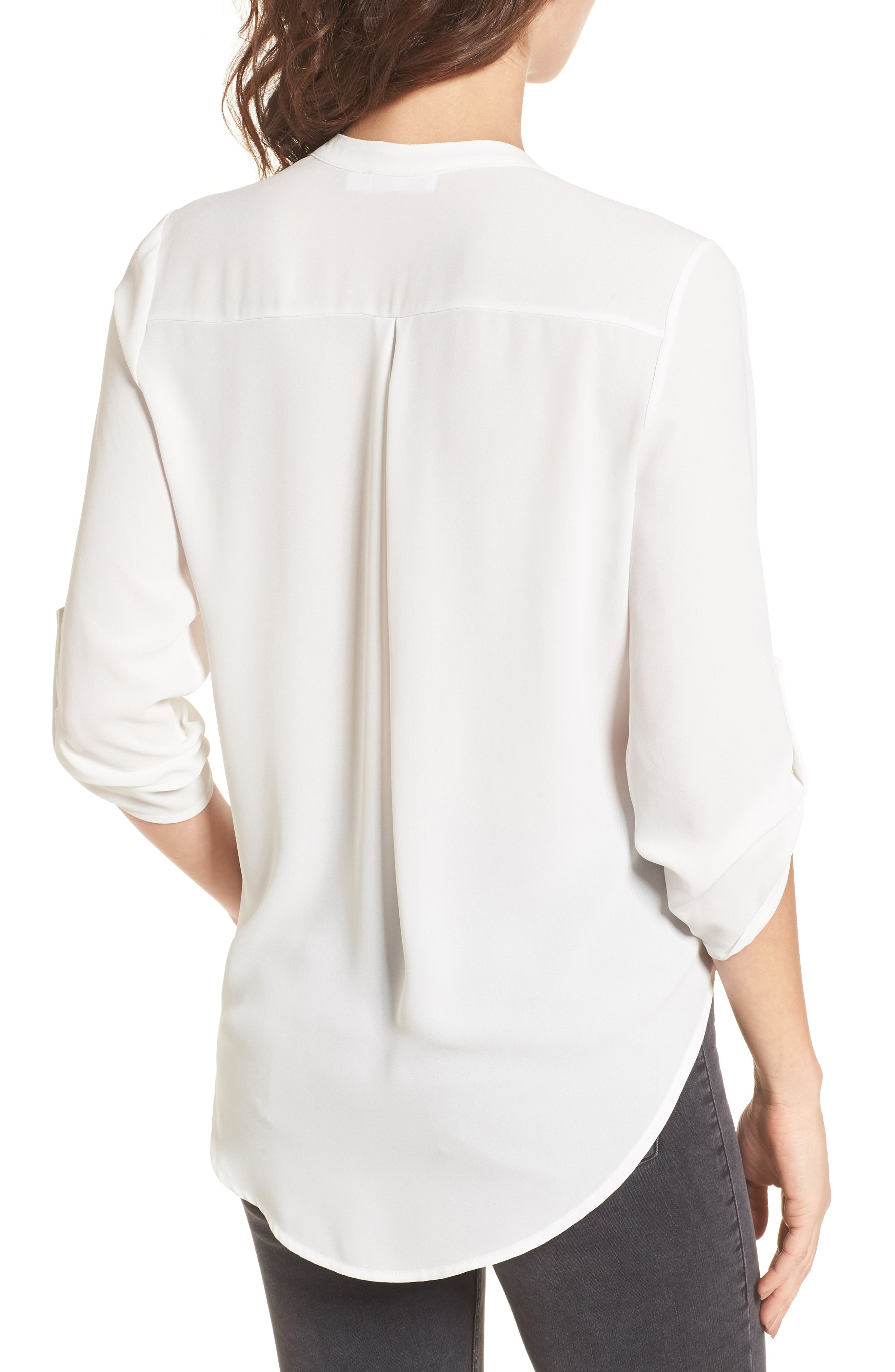 Shirt for Women On Sale, White, Cotton, 2017, 10 12 6 8 Fay