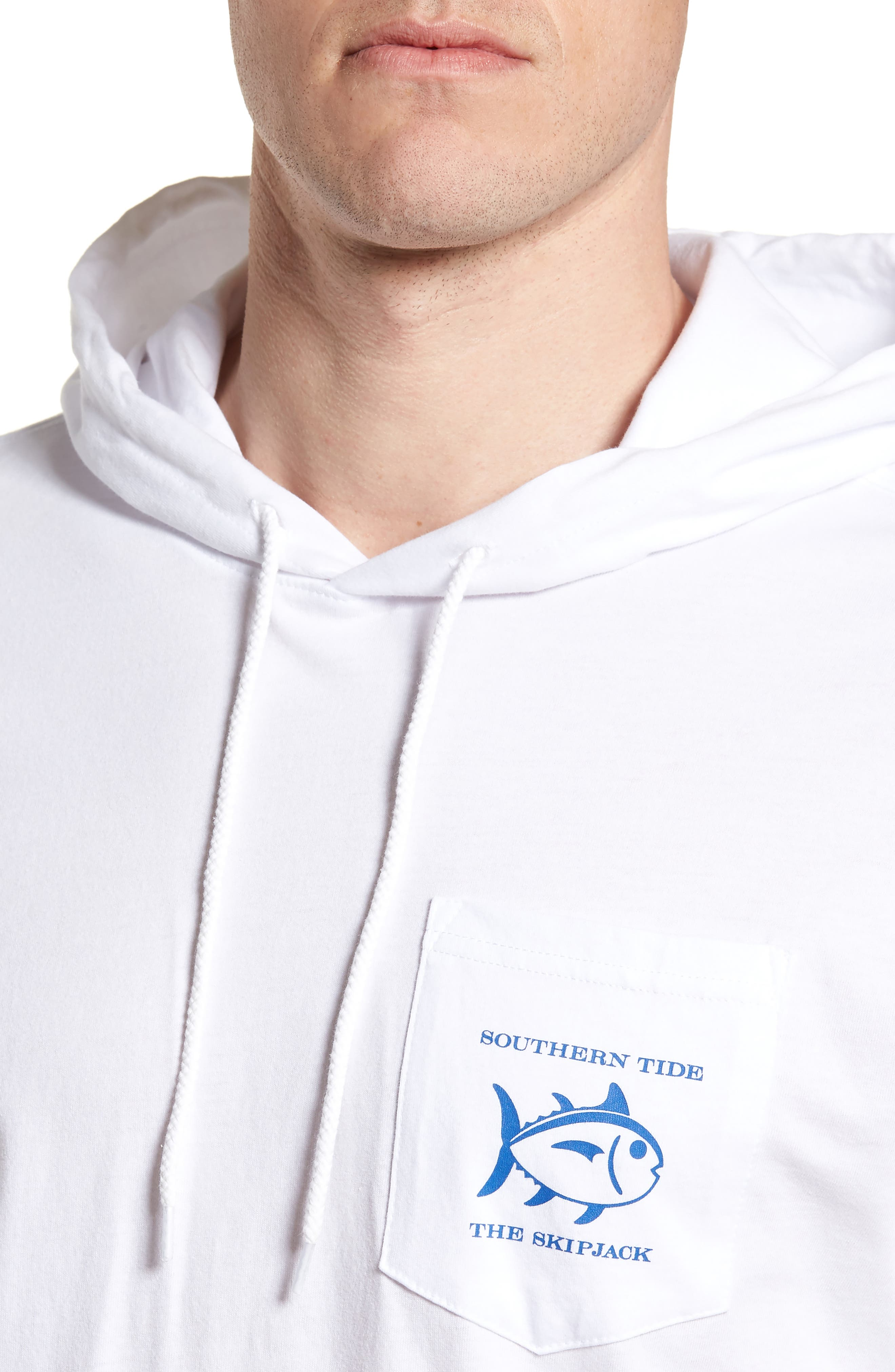 Diamond Logo Hoodie,                             Alternate thumbnail 4, color,                             Classic White