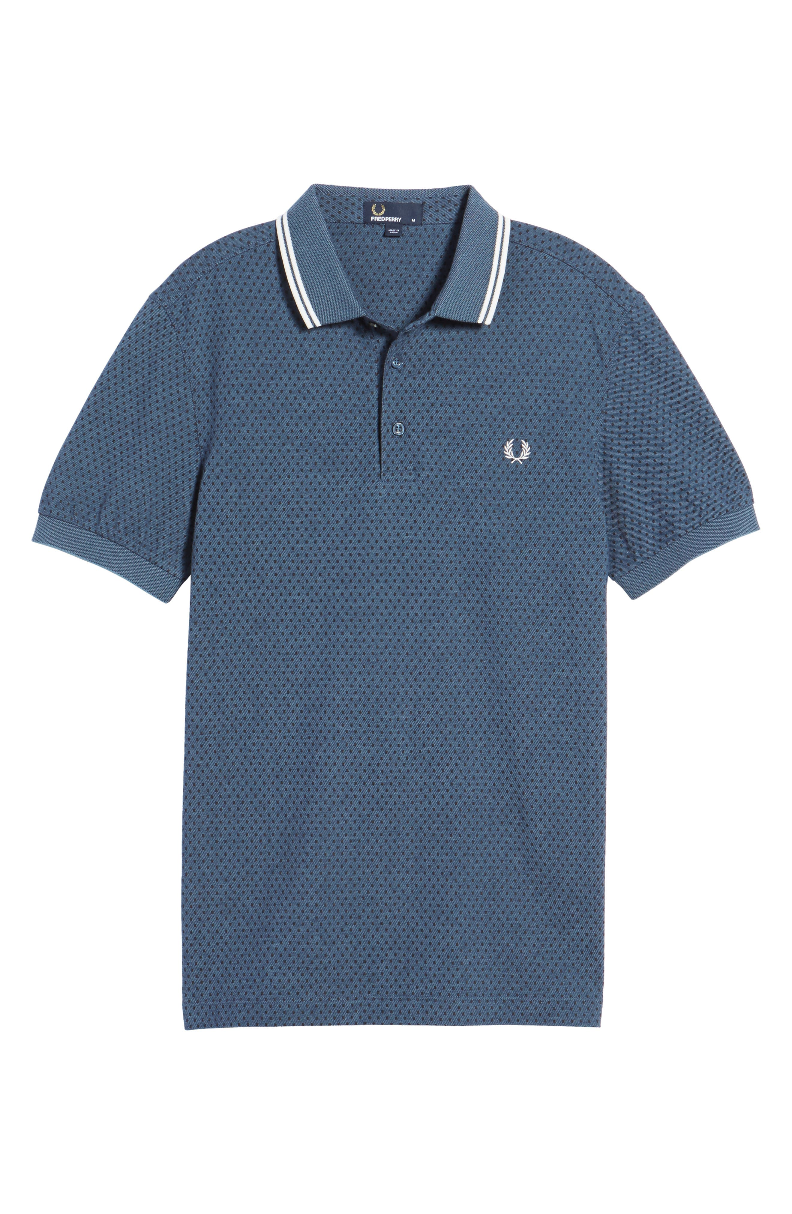 Alternate Image 6  - Fred Perry Piqué Polo