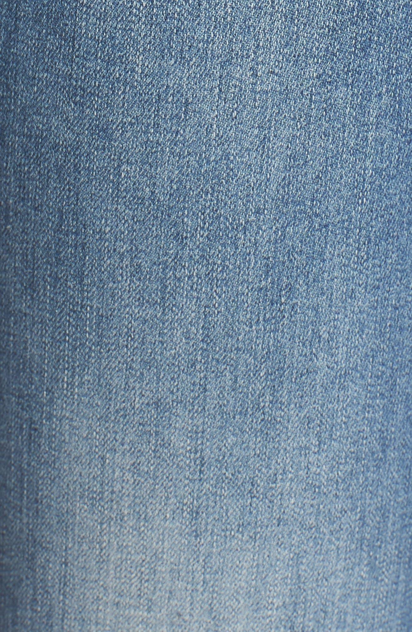 'Prima' Skinny Jeans,                             Alternate thumbnail 6, color,                             Sea Sprite