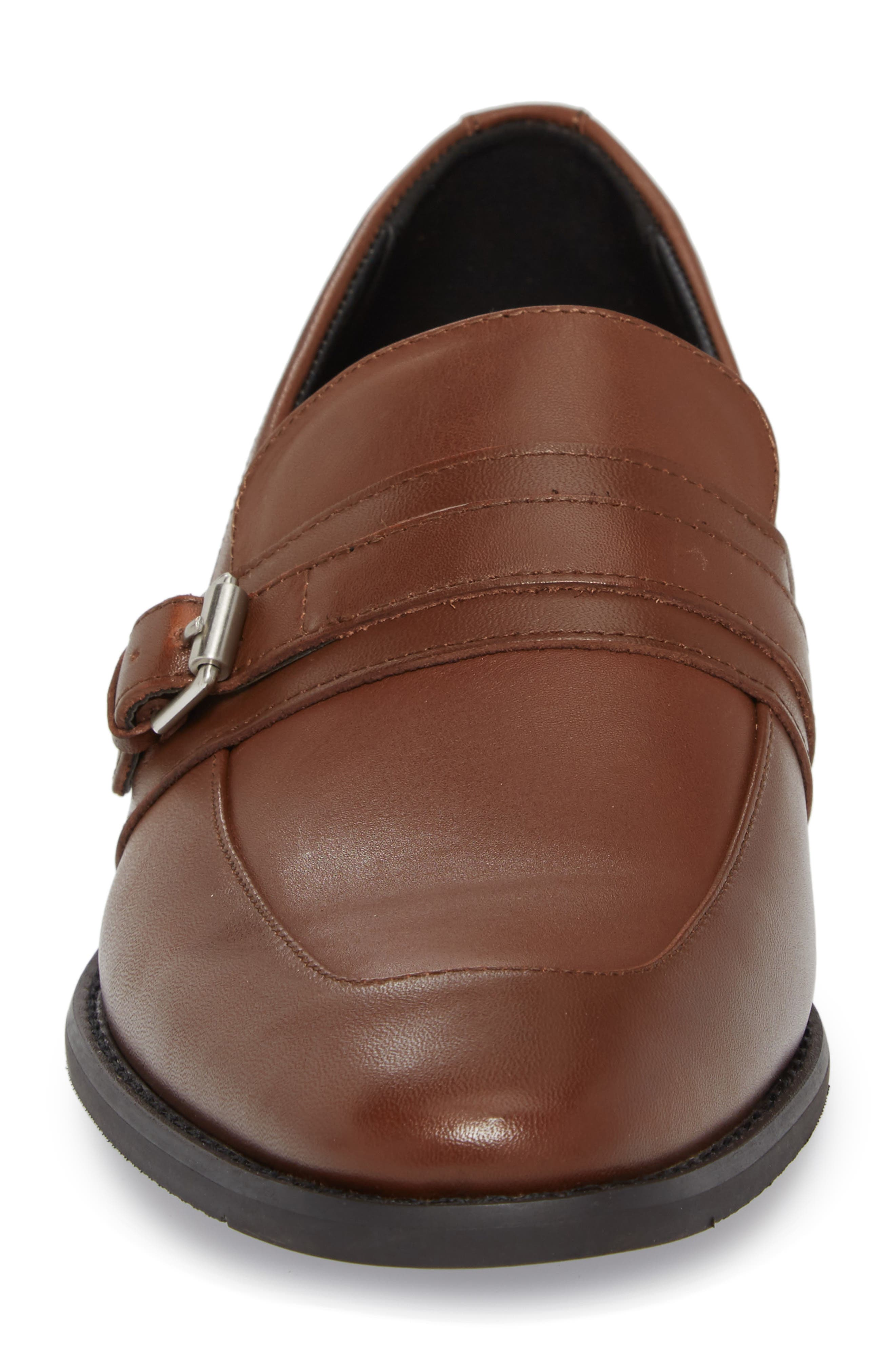 Reyes Loafer,                             Alternate thumbnail 4, color,                             Tan Leather