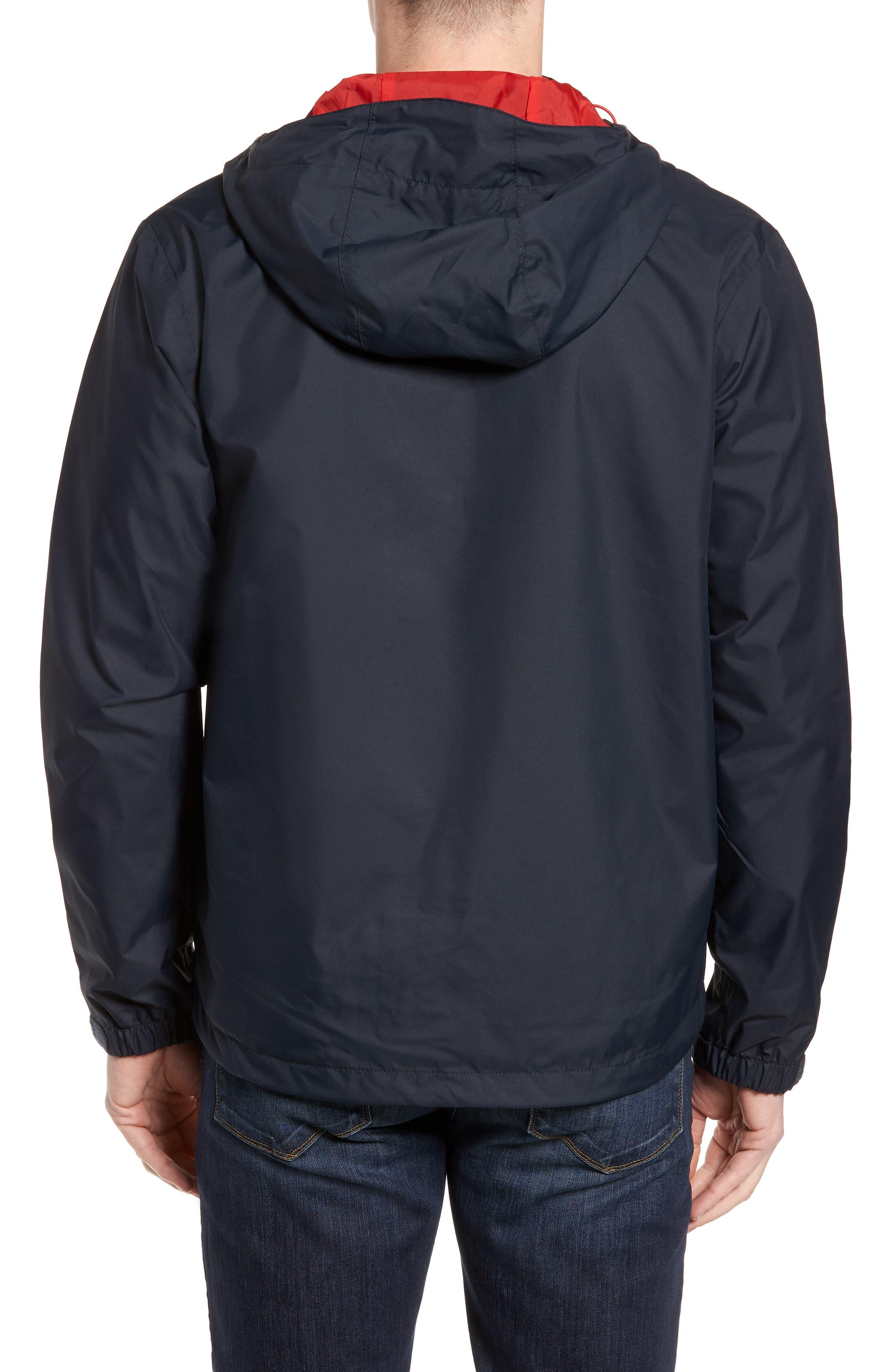 'Vancouver' Packable Rain Jacket,                             Alternate thumbnail 2, color,                             Navy/ Navy