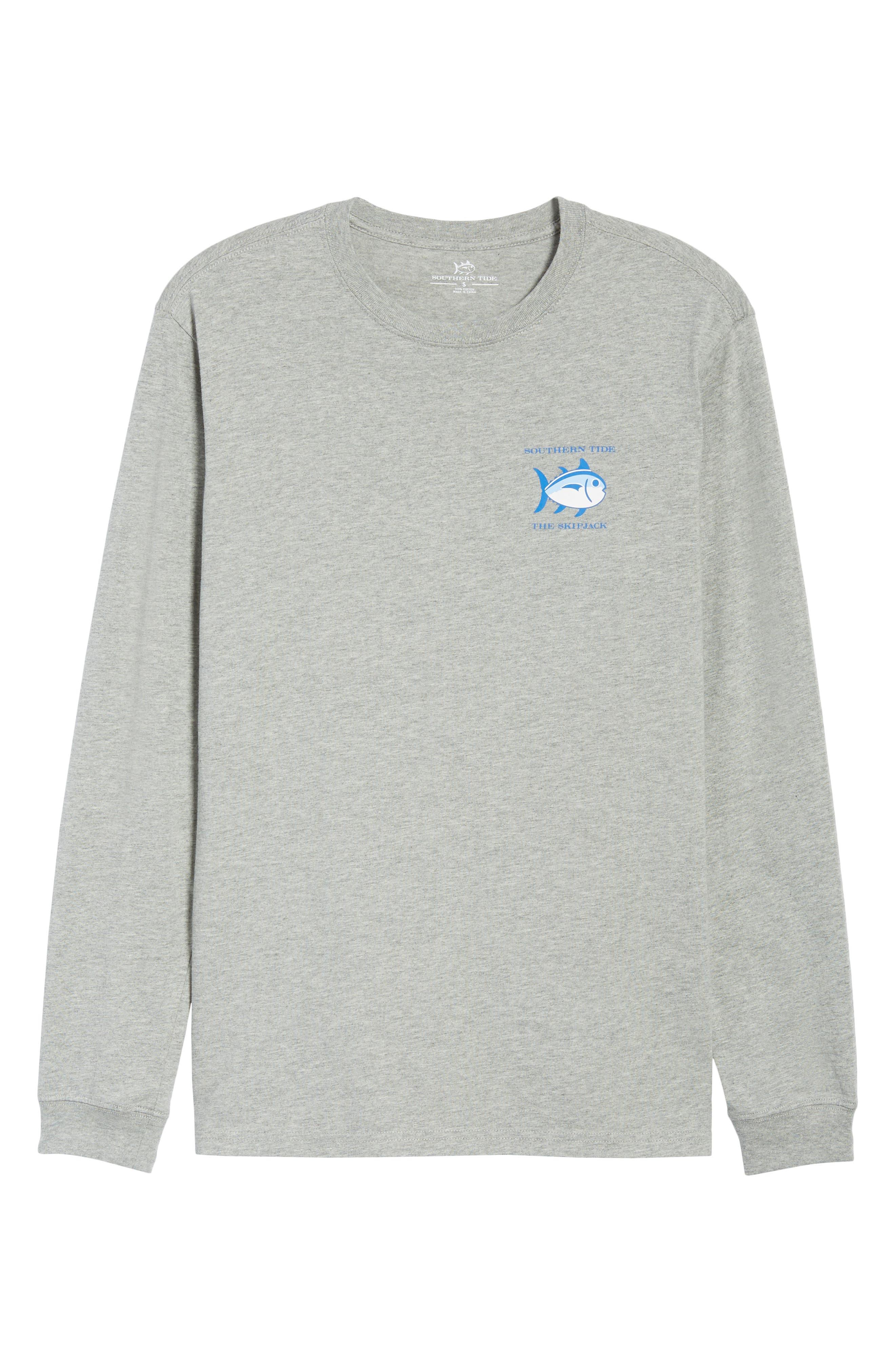 Original Skipjack T-Shirt,                             Alternate thumbnail 6, color,                             Grey