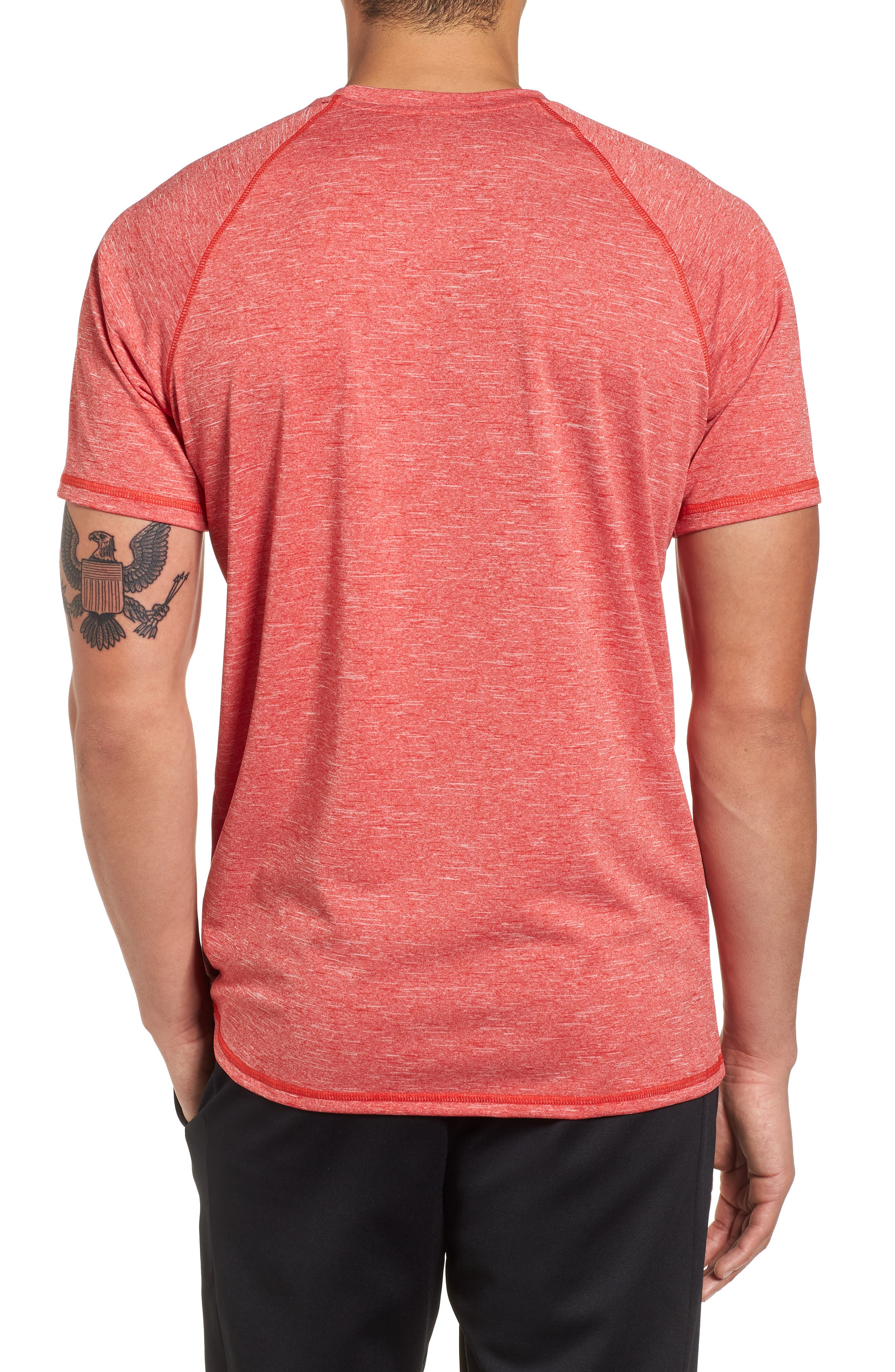 Dry Hydroguard T-Shirt,                             Alternate thumbnail 2, color,                             University Red