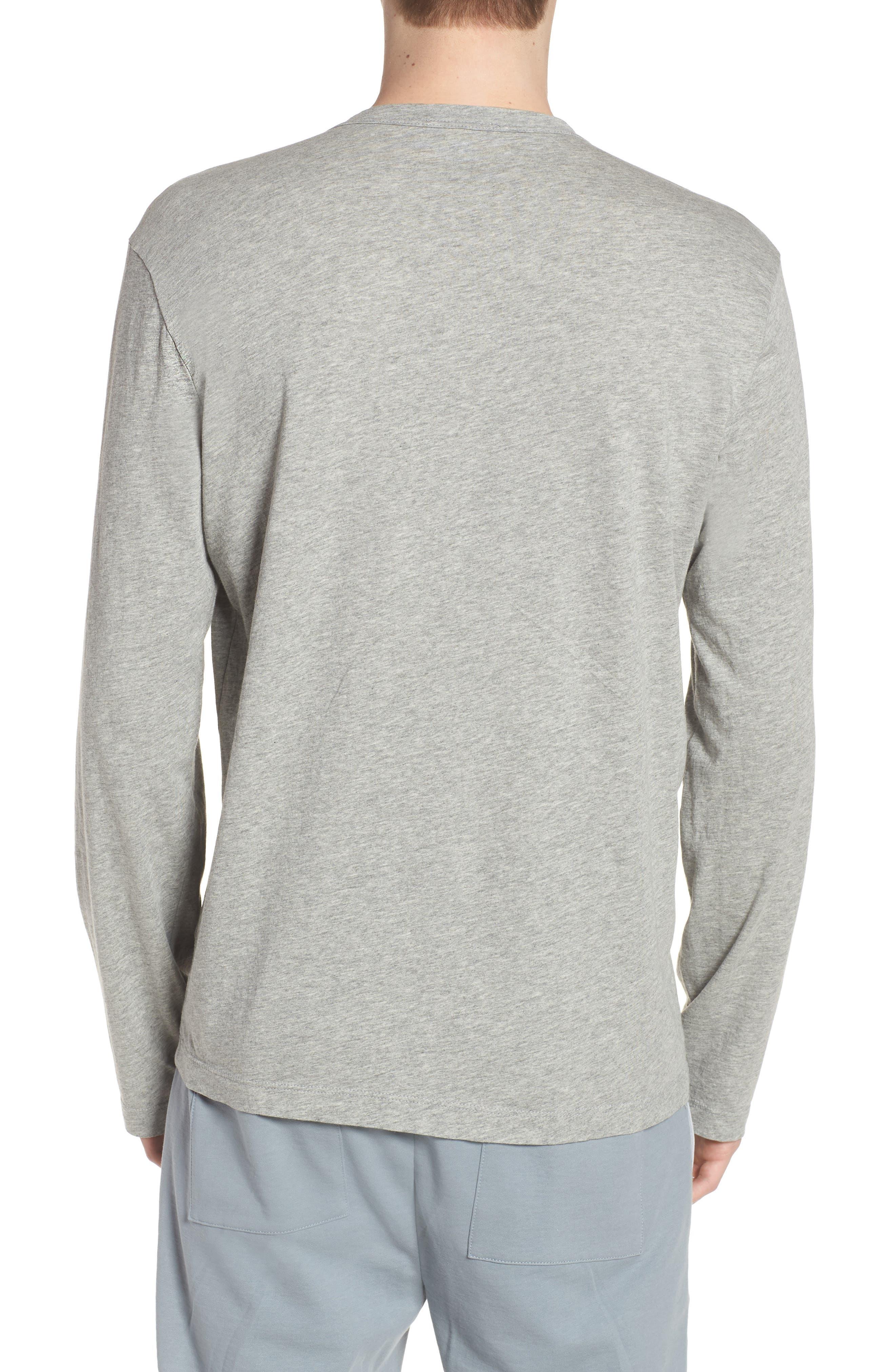 Alternate Image 2  - James Perse Crewneck Cotton Sweatshirt