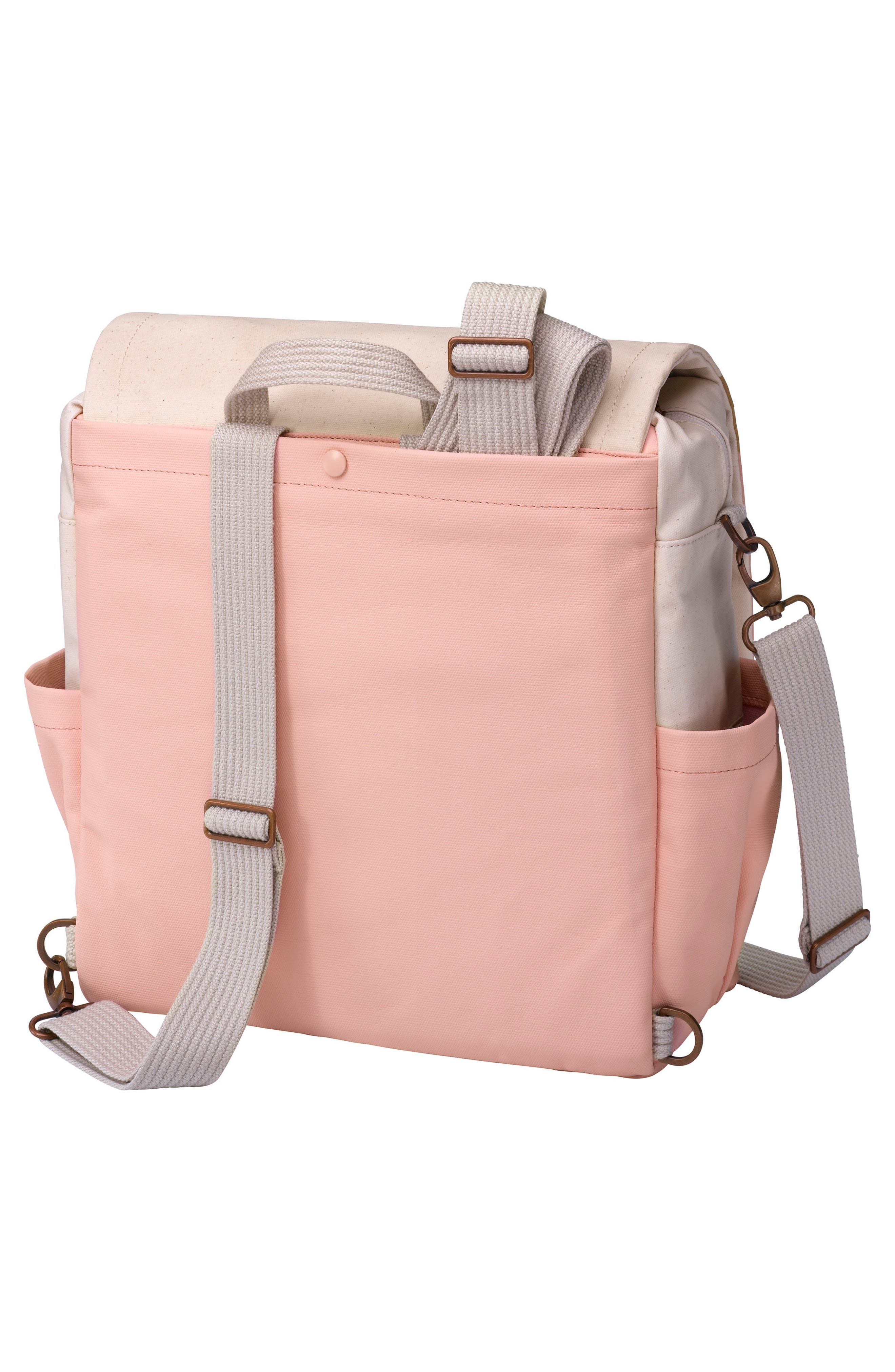 Boxy Backpack Diaper Bag,                             Alternate thumbnail 2, color,                             Birch/ Macaron